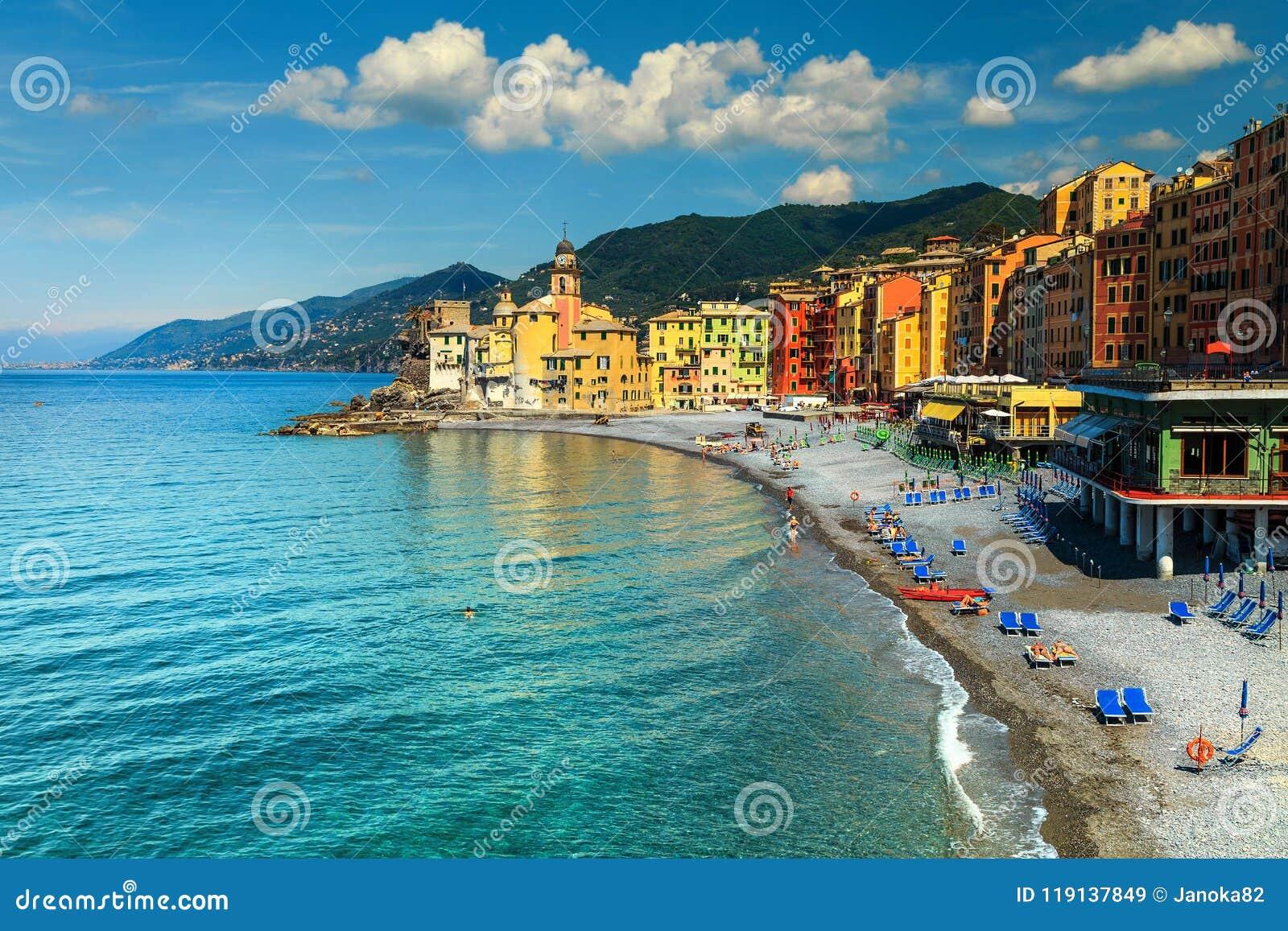 Costa Mediterranea Spettacolare Di Riviera Con La Località ...