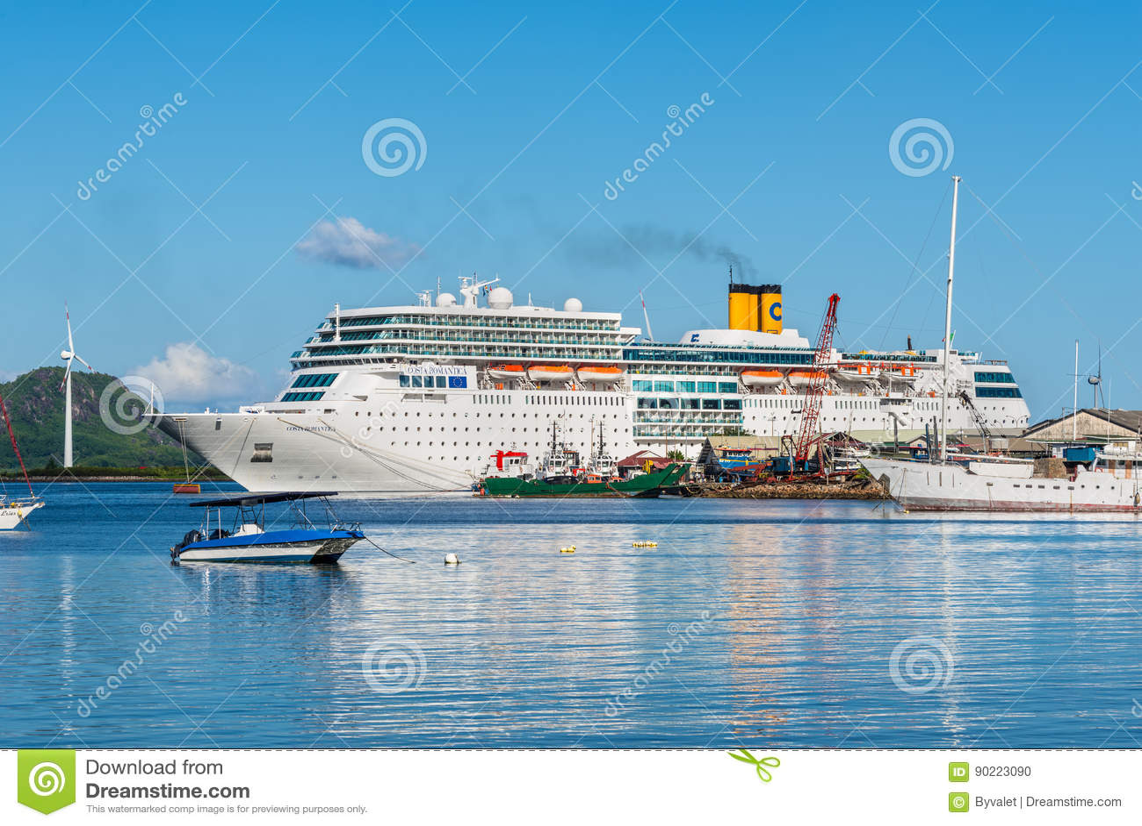 Costa Neoromantica Cruise Ship Editorial Image Image Of Ship Lifestyle 90223090