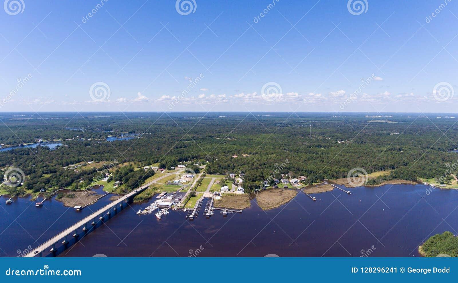 Costa ocidental da baía móvel, Alabama