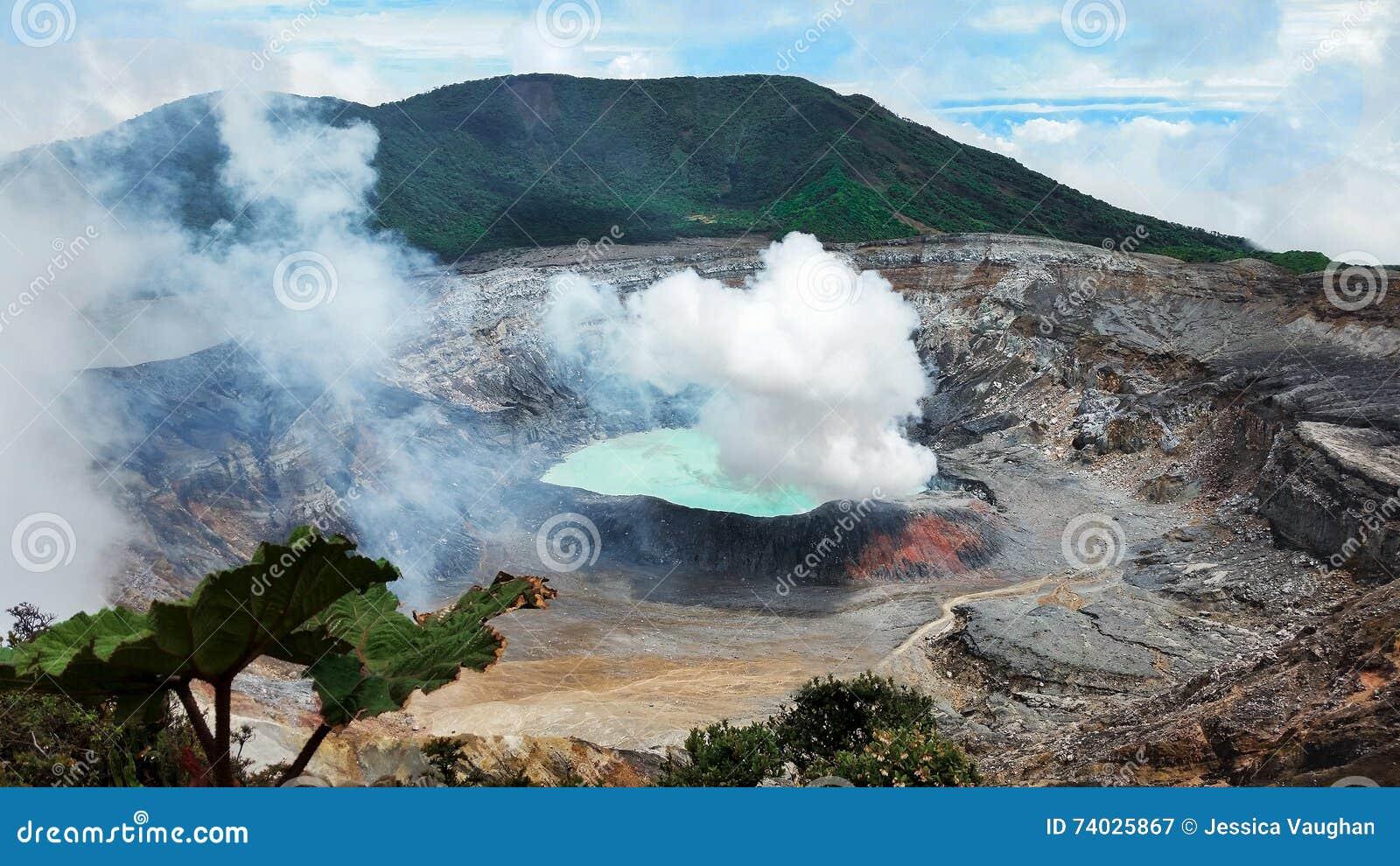 Costa Rica de Volcan Poas