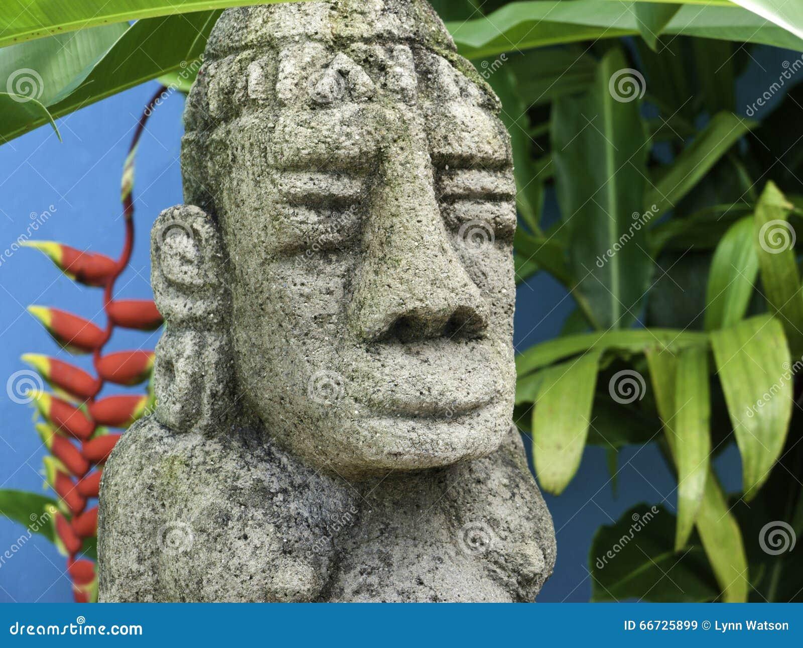 Costa Rica Mayan Sculpture