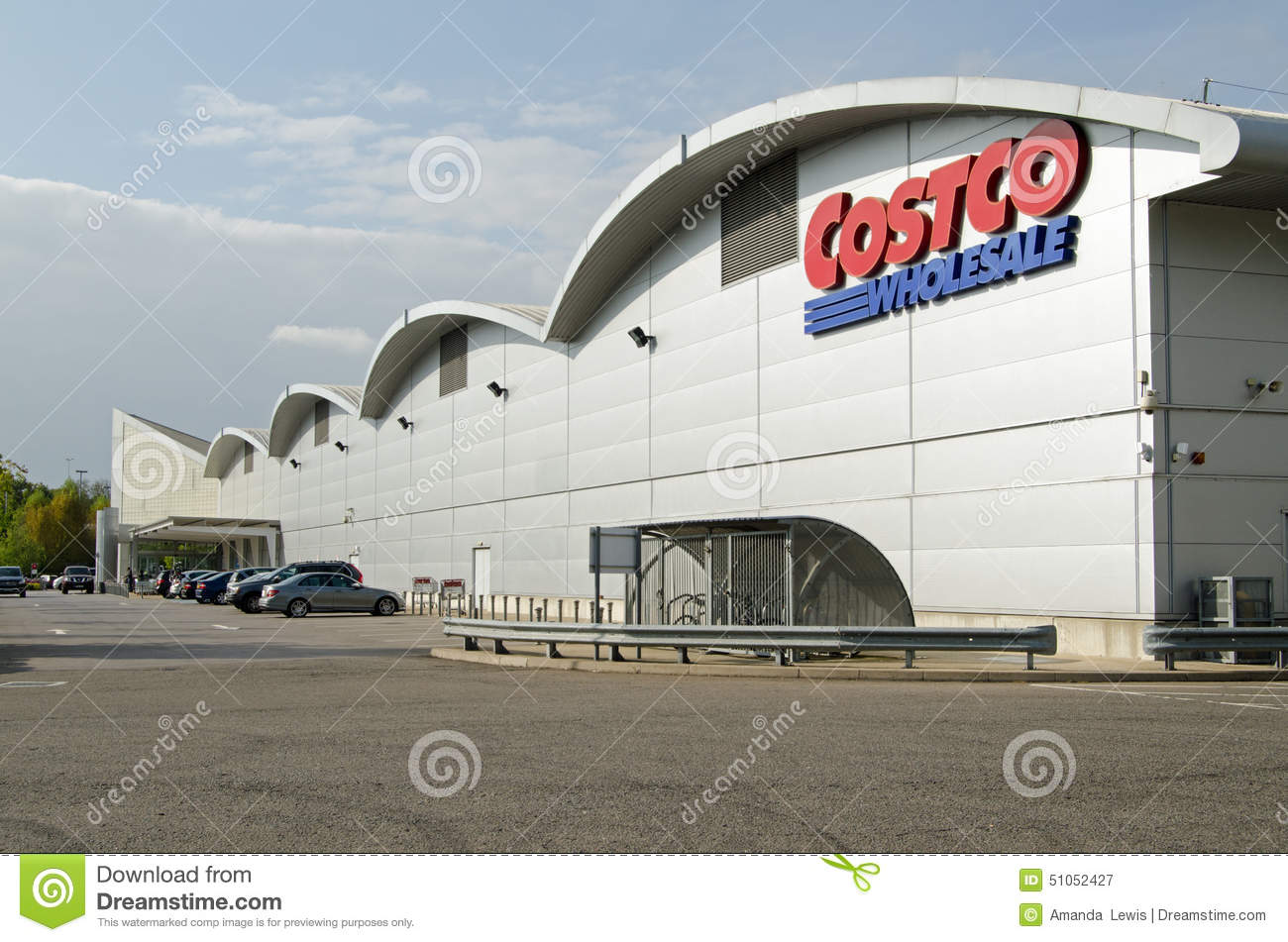 Download Costco Warehouse Shop Reading Editorial Photography