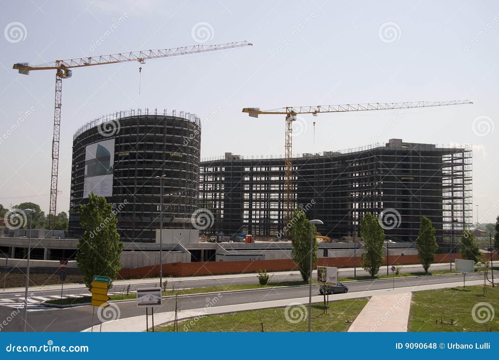 Costruction eines Gebäudes 3