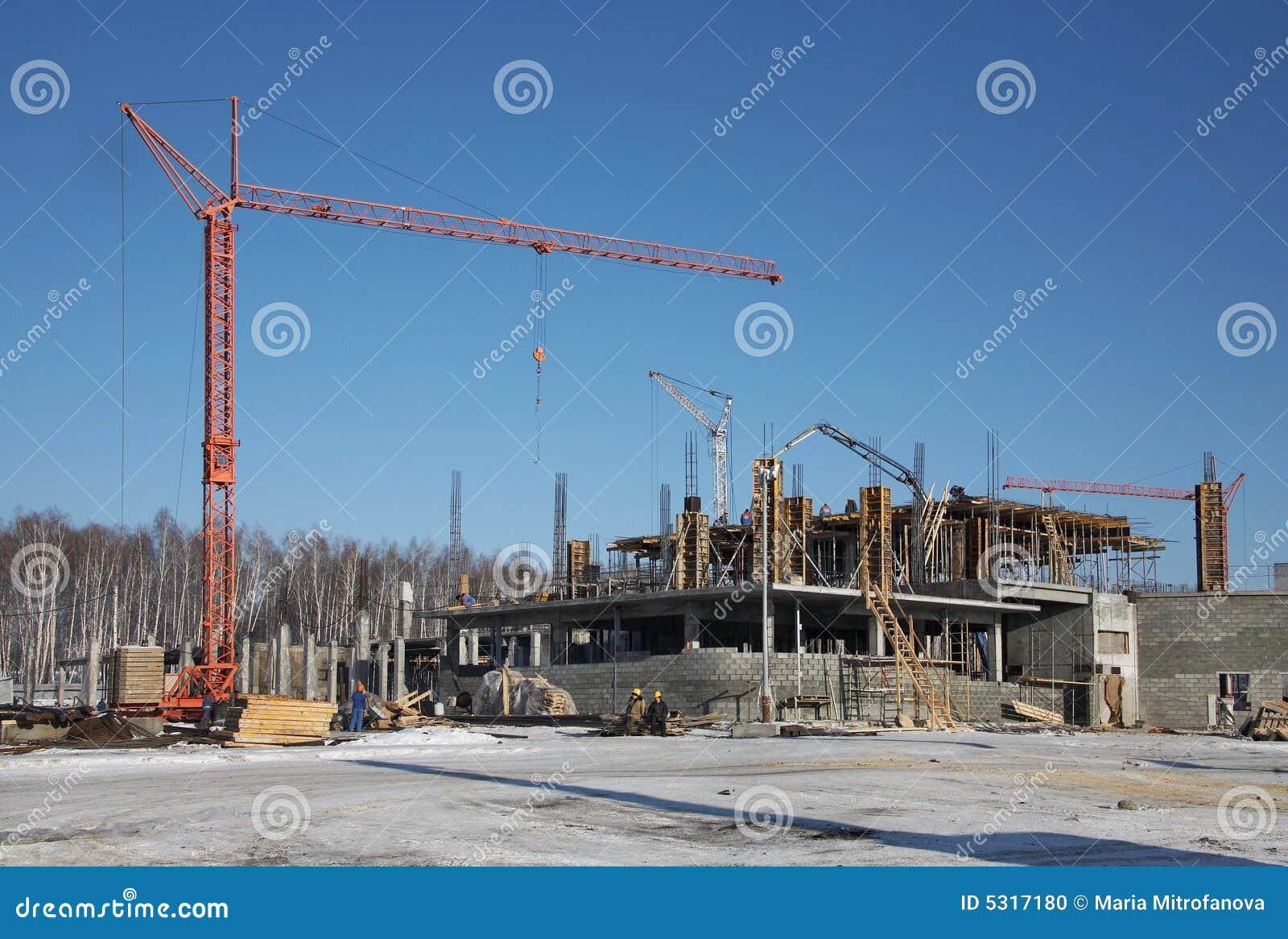 Download Costruzione 06 fotografia stock. Immagine di foresta, engineer - 5317180