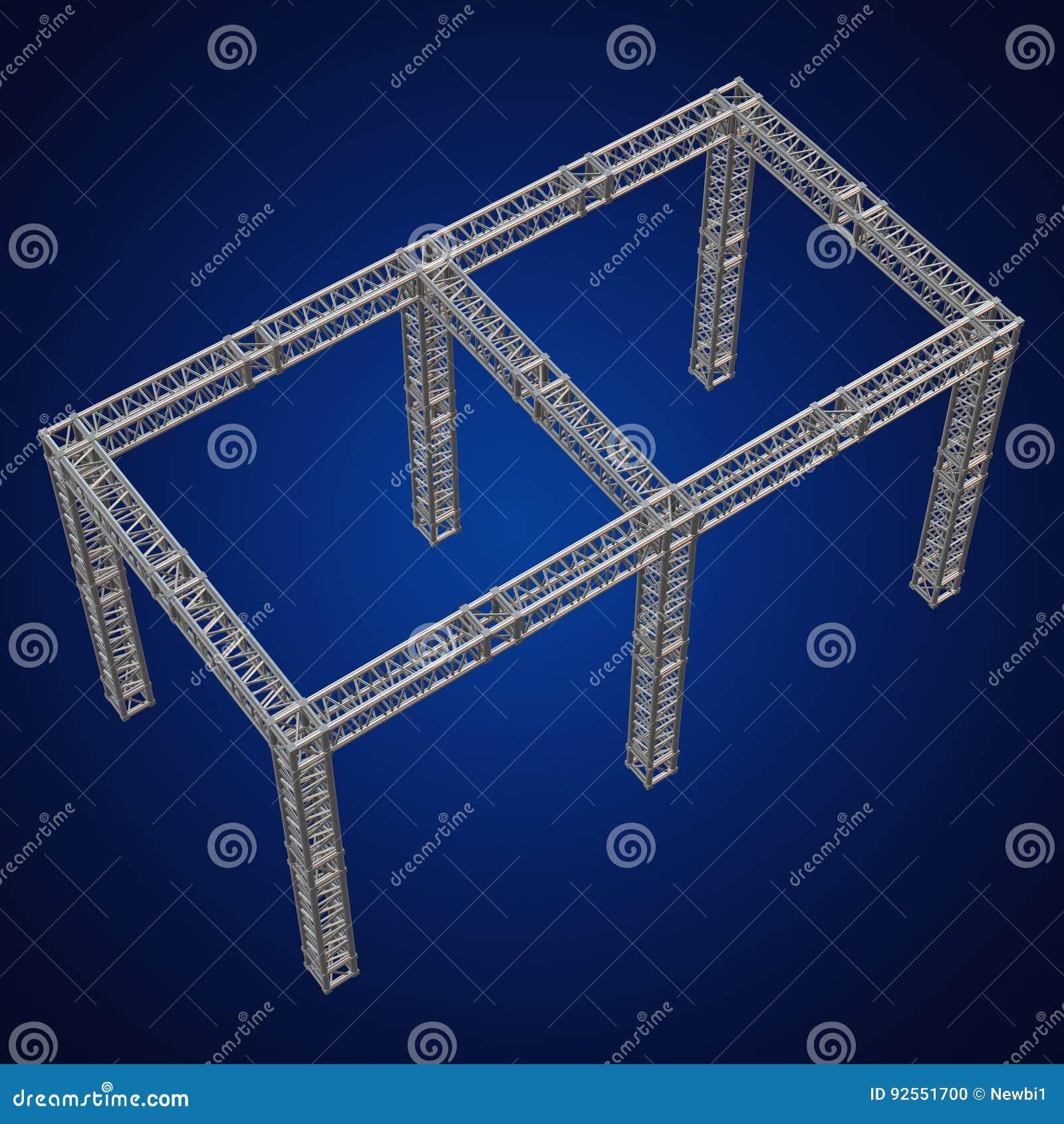 Costruzione d acciaio del tetto della trave della capriata