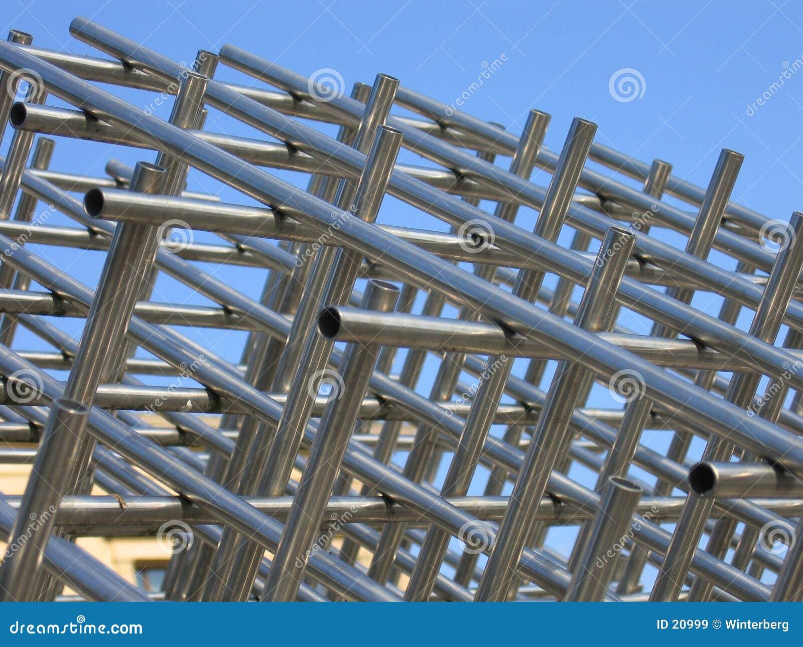 Download Costruzione del metallo immagine stock. Immagine di metallo - 20999
