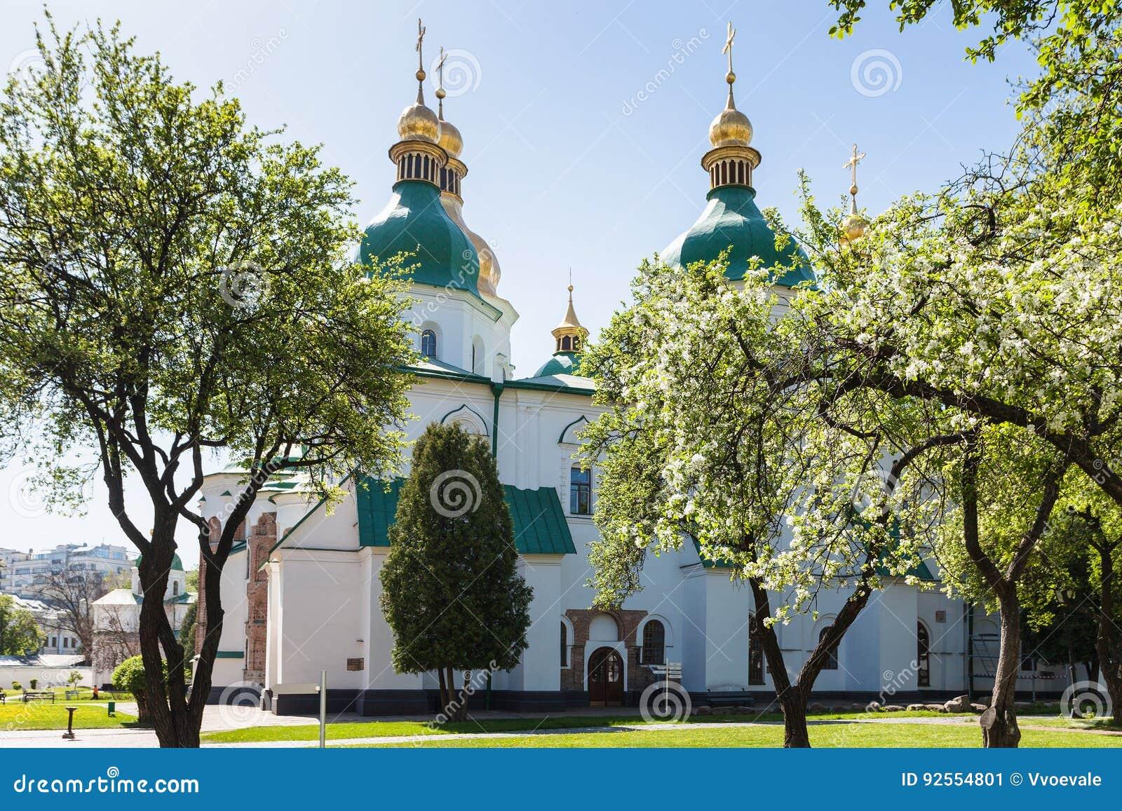 Costruzione del san Sophia Cathedral nella città di Kiev