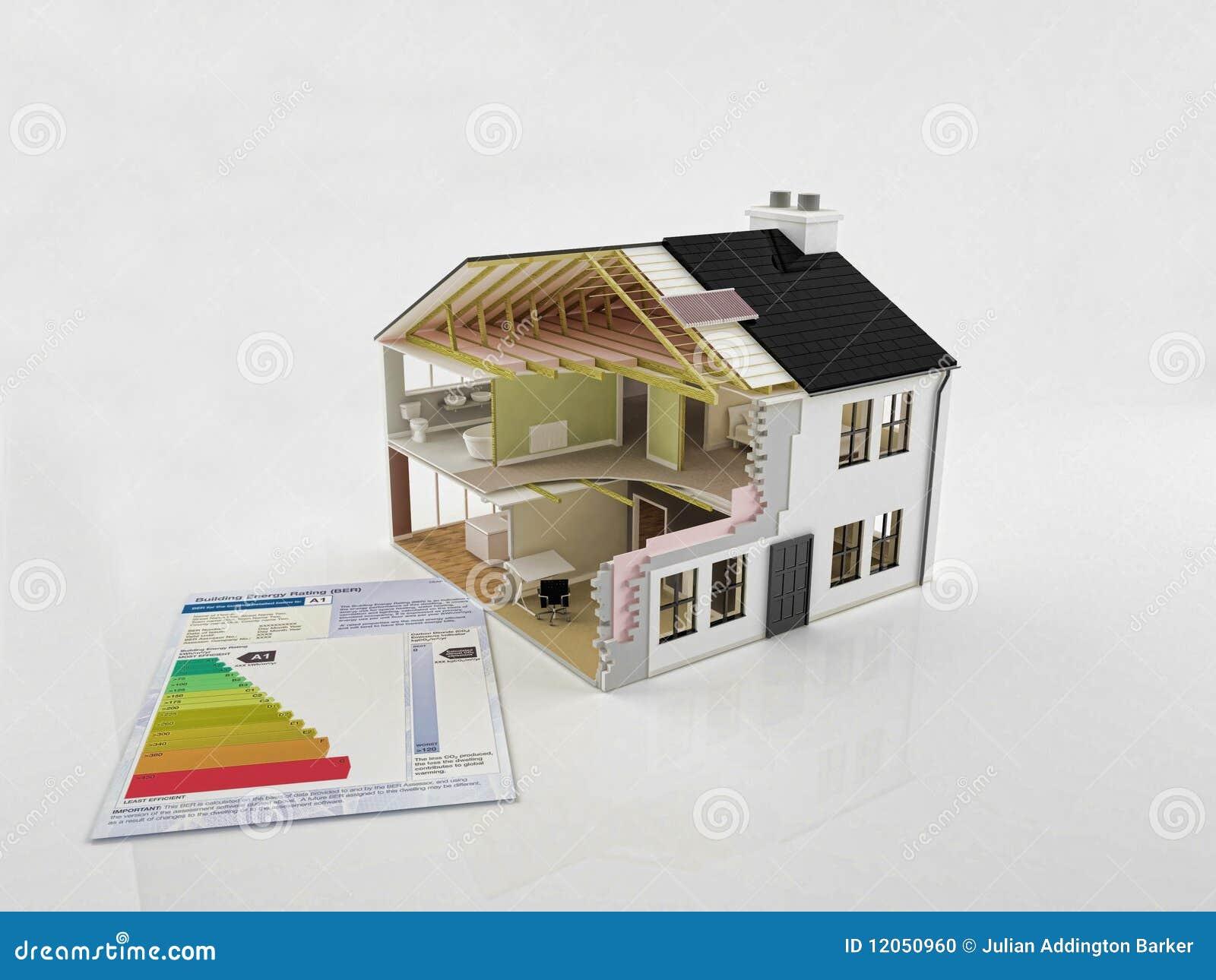 Costruzione della nuova casa fotografia stock immagine for Casa di costruzione personalizzata