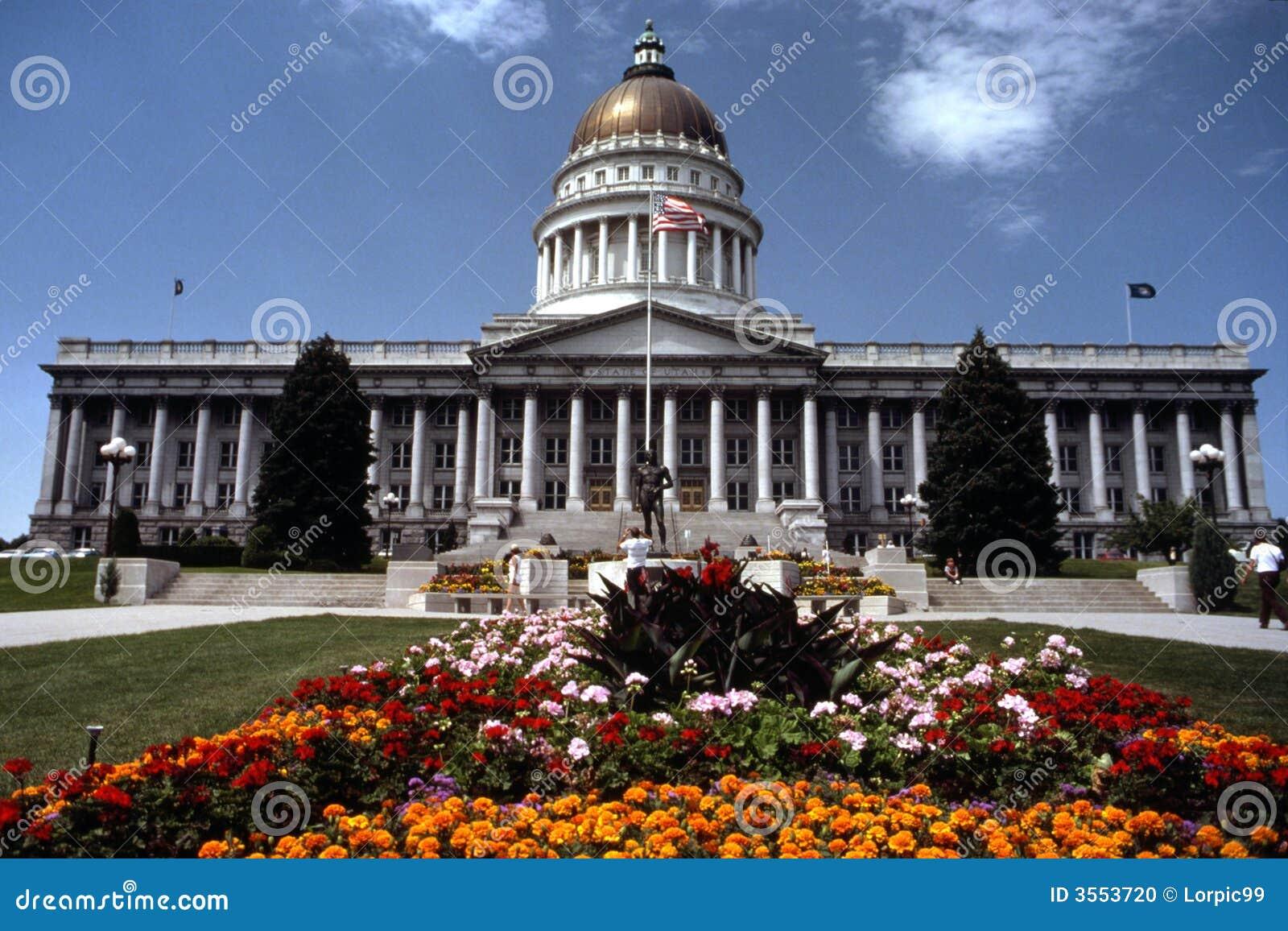Costruzione di Campidoglio della condizione dell Utah