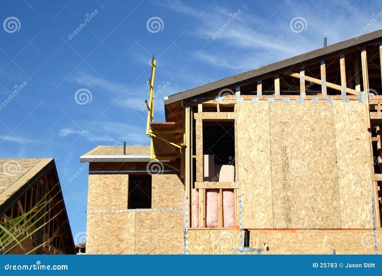 Costruzione di edifici immagine stock immagine di casa for Costruzione di case a prezzi accessibili