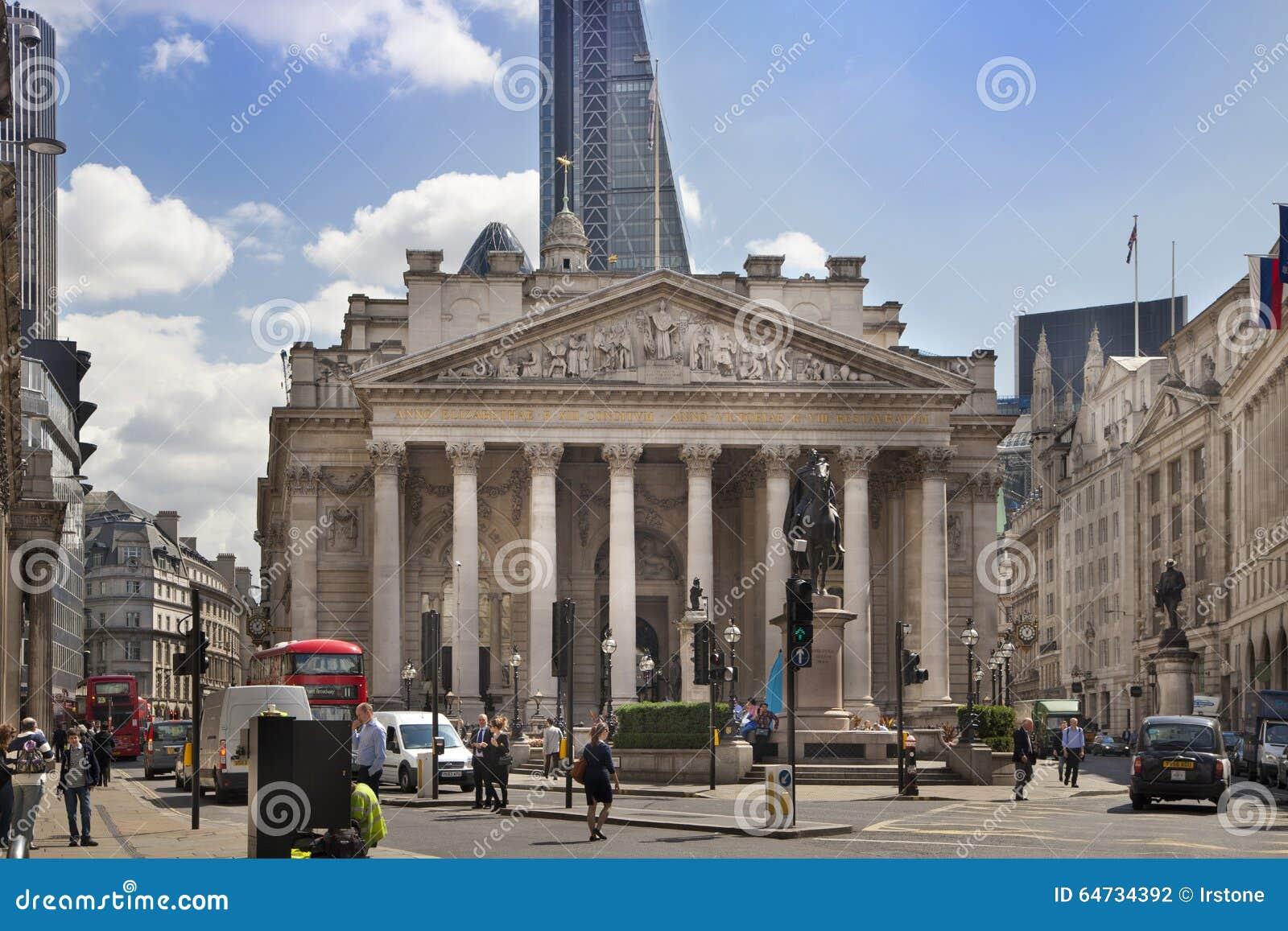 Costruzione di scambio reale, quadrato della banca di Inghilterra