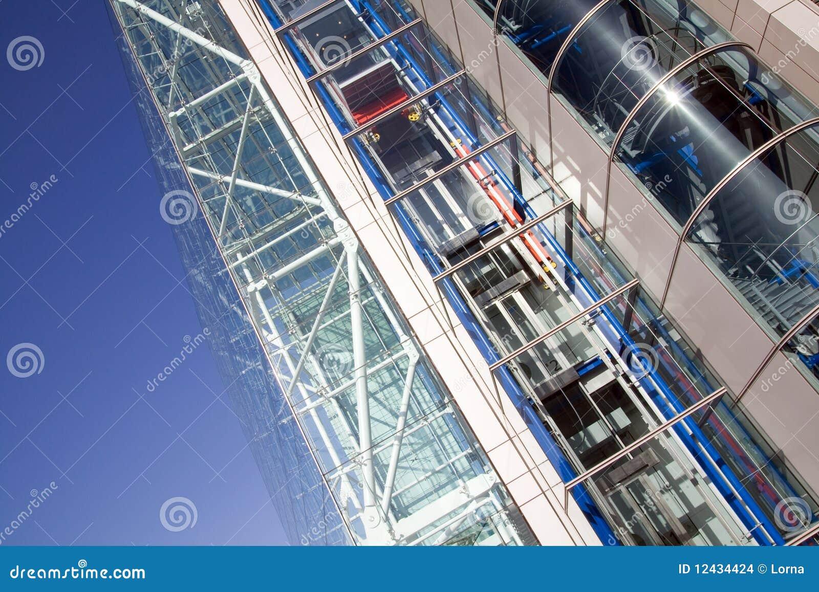 Costruzione di vetro d 39 acciaio di architettura immagini for Piani di costruzione di edifici in metallo