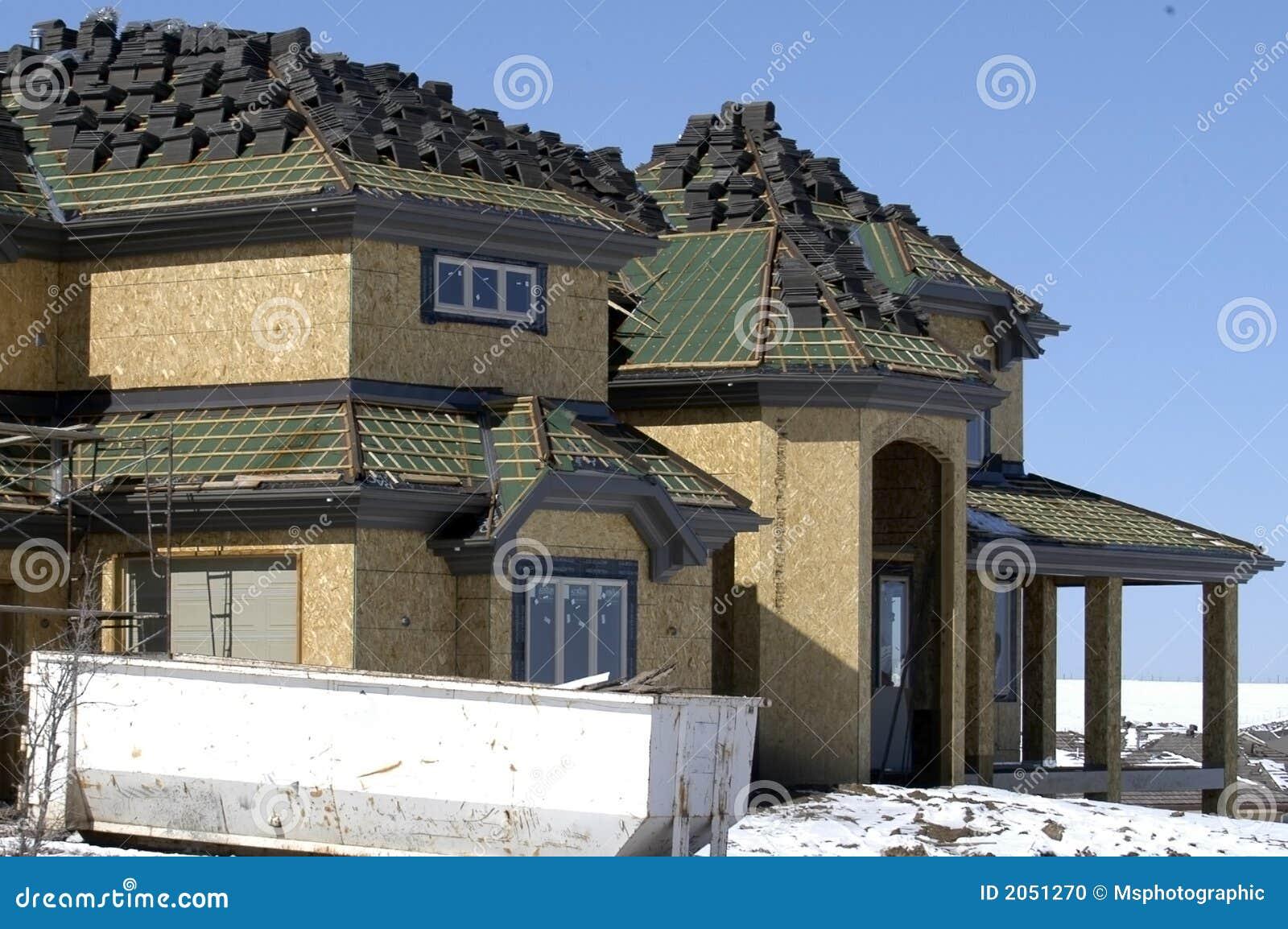 costruzione domestica di lusso fotografia stock immagine