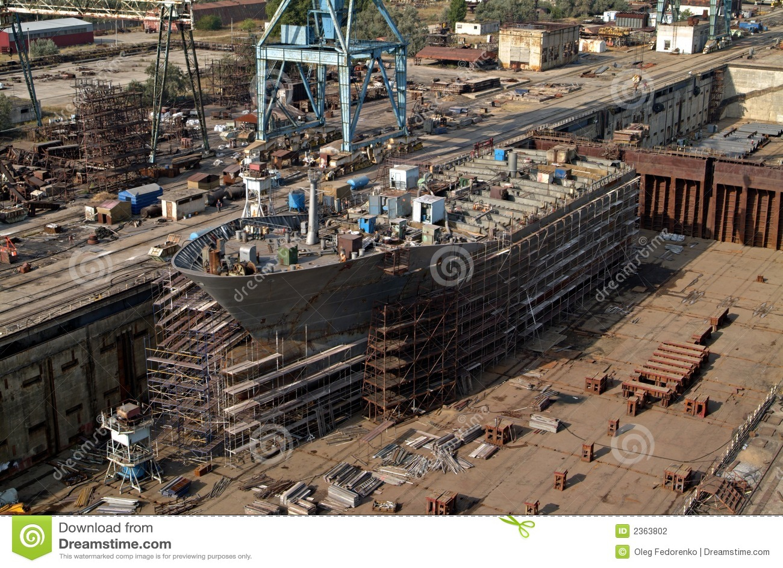 costruzione navale riparazione della nave fotografia