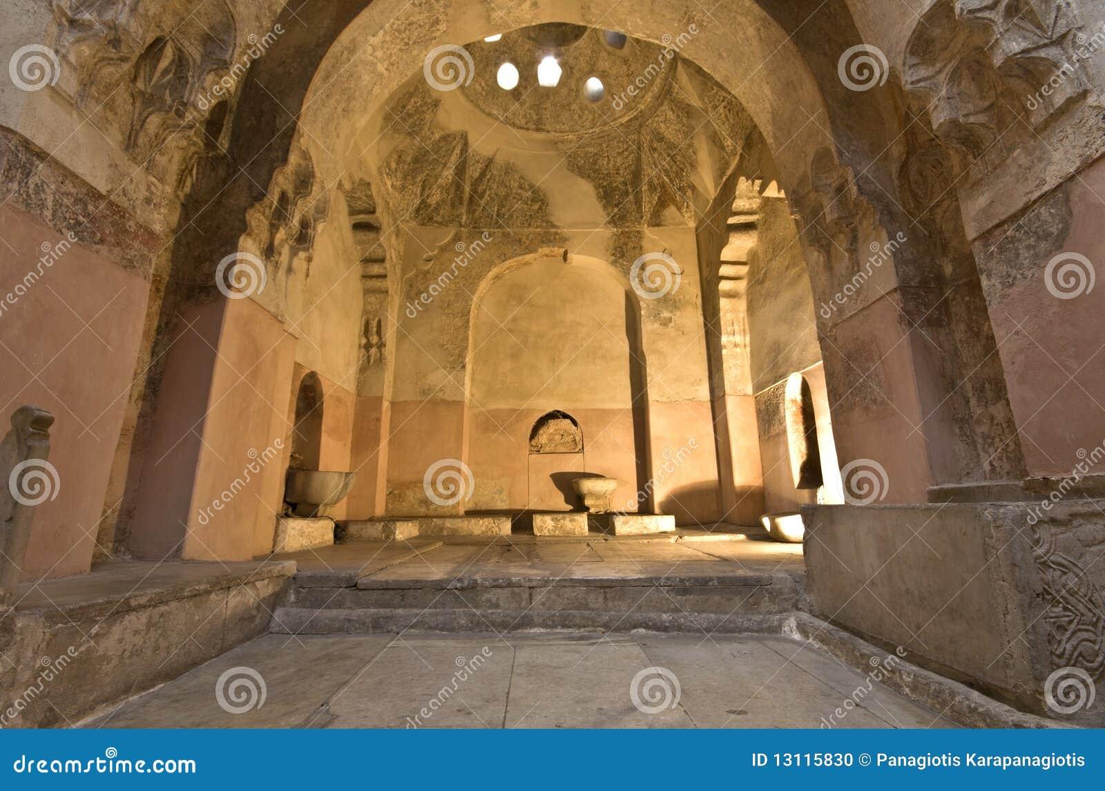 Costruzione storica del bagno del hamam di bey alla grecia fotografia stock immagine di - Costruzione bagno ...