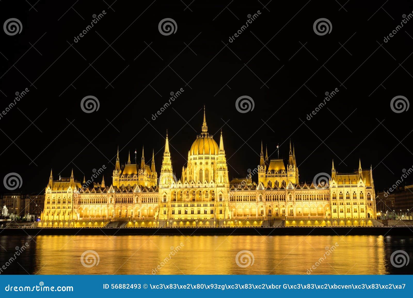 Costruzione ungherese del Parlamento, Budapest, Ungheria