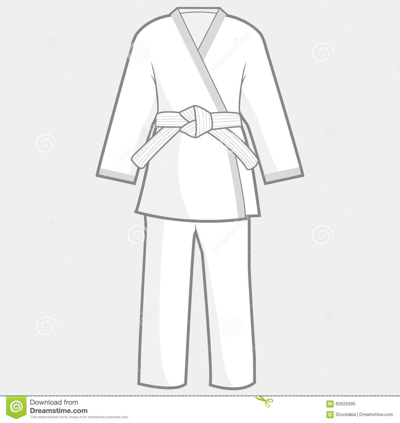 Costume de kimono d arts martiaux