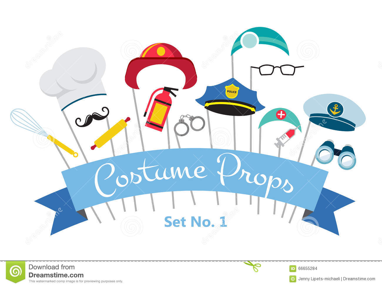 costume party profession props - Costume Props