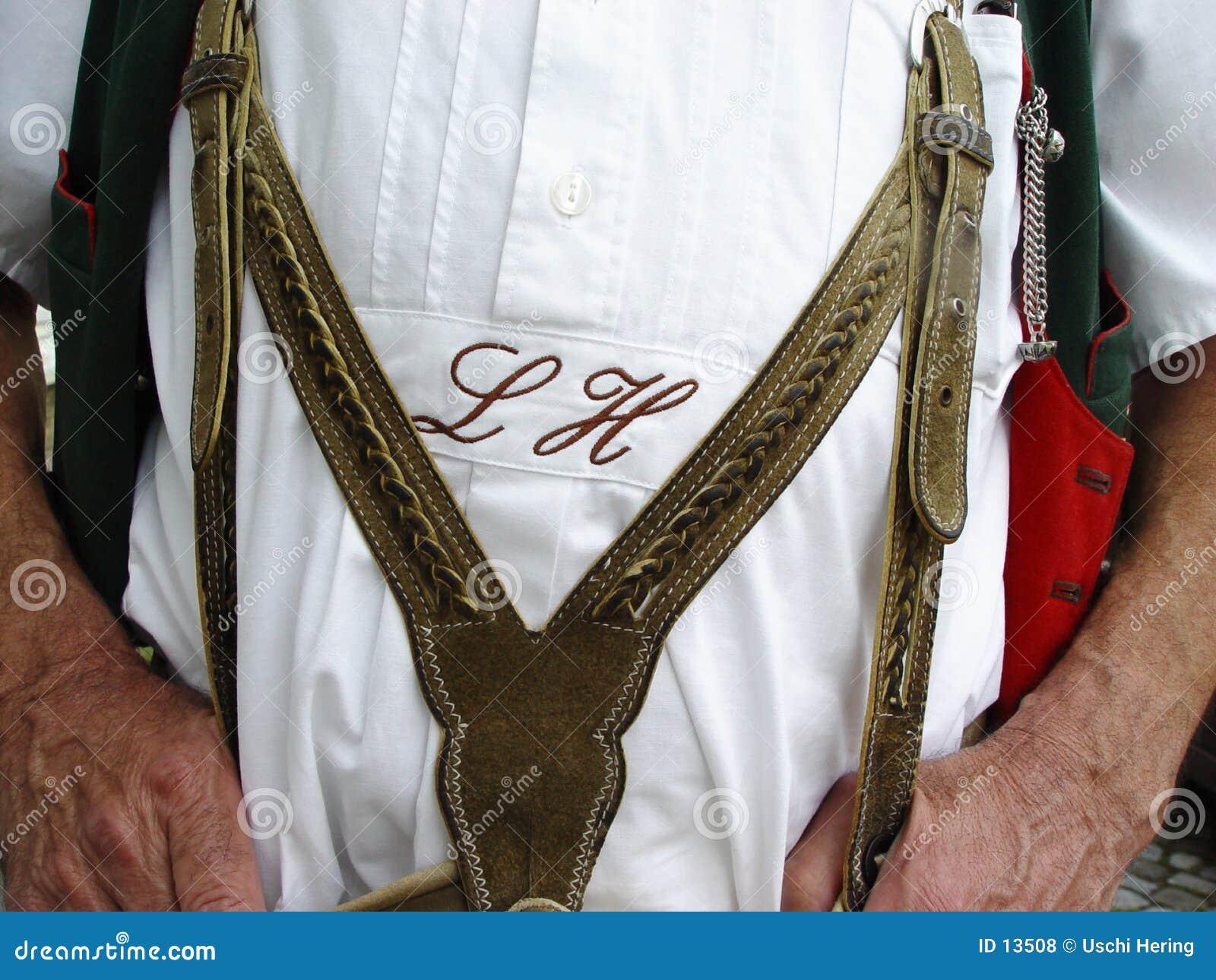 Costume quotidien de Bavarois