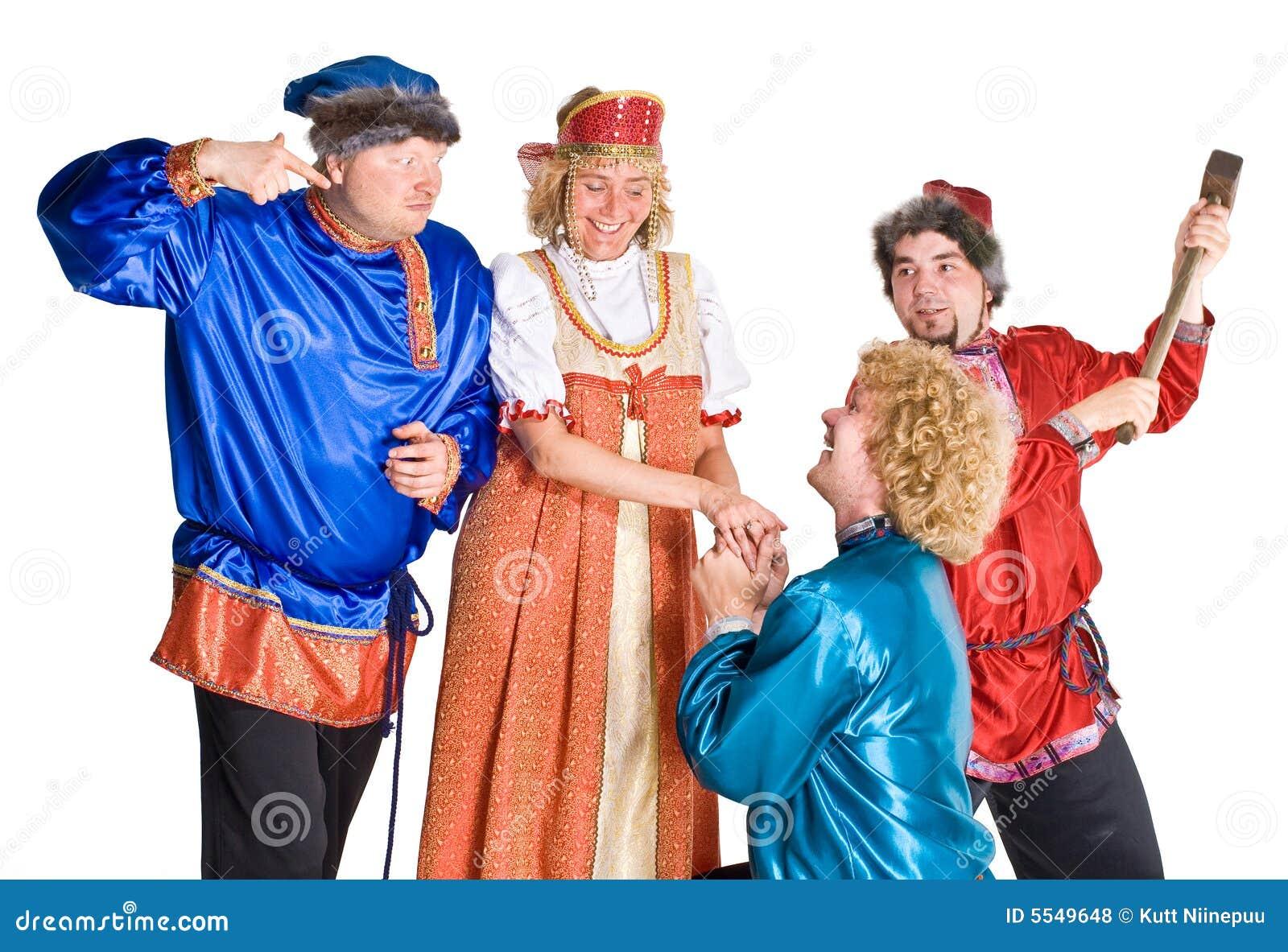 Costumes актеров