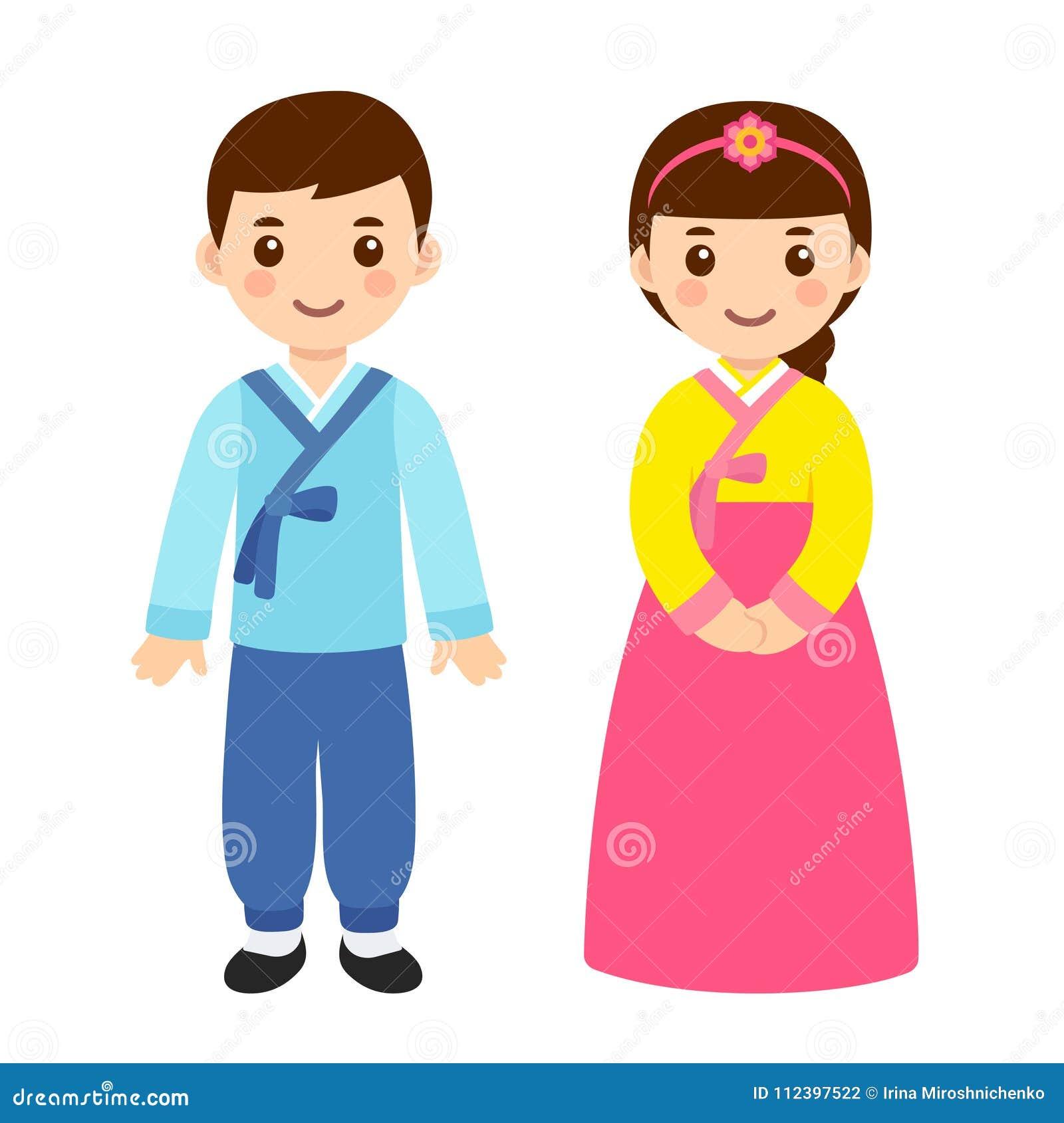 Costumes coréens traditionnels