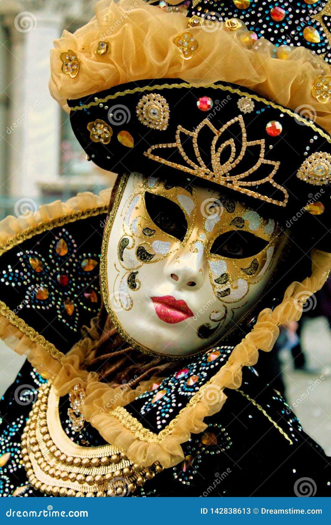 Costumi e maschere carrnival di Venezia