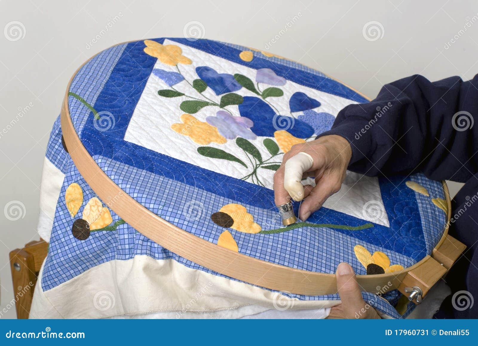 Costura en aro del edredón