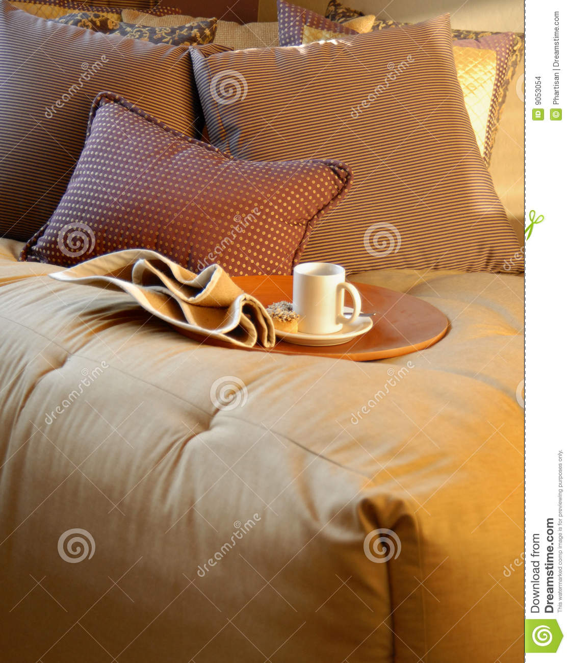 Cosy Bedroom Interior Design Series Stock Images Image