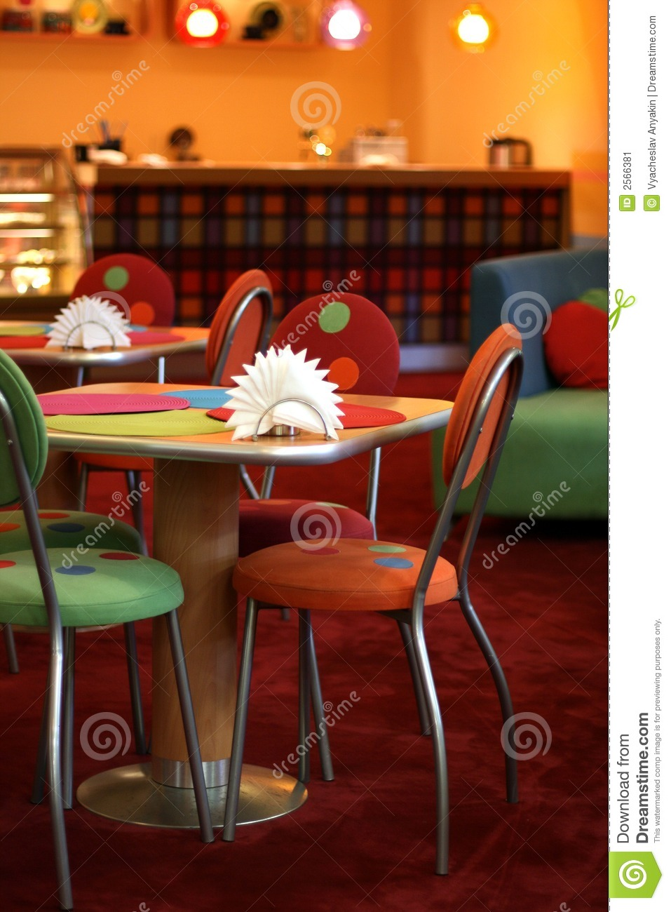 Cosy Cafe Stock Image Image 2566381