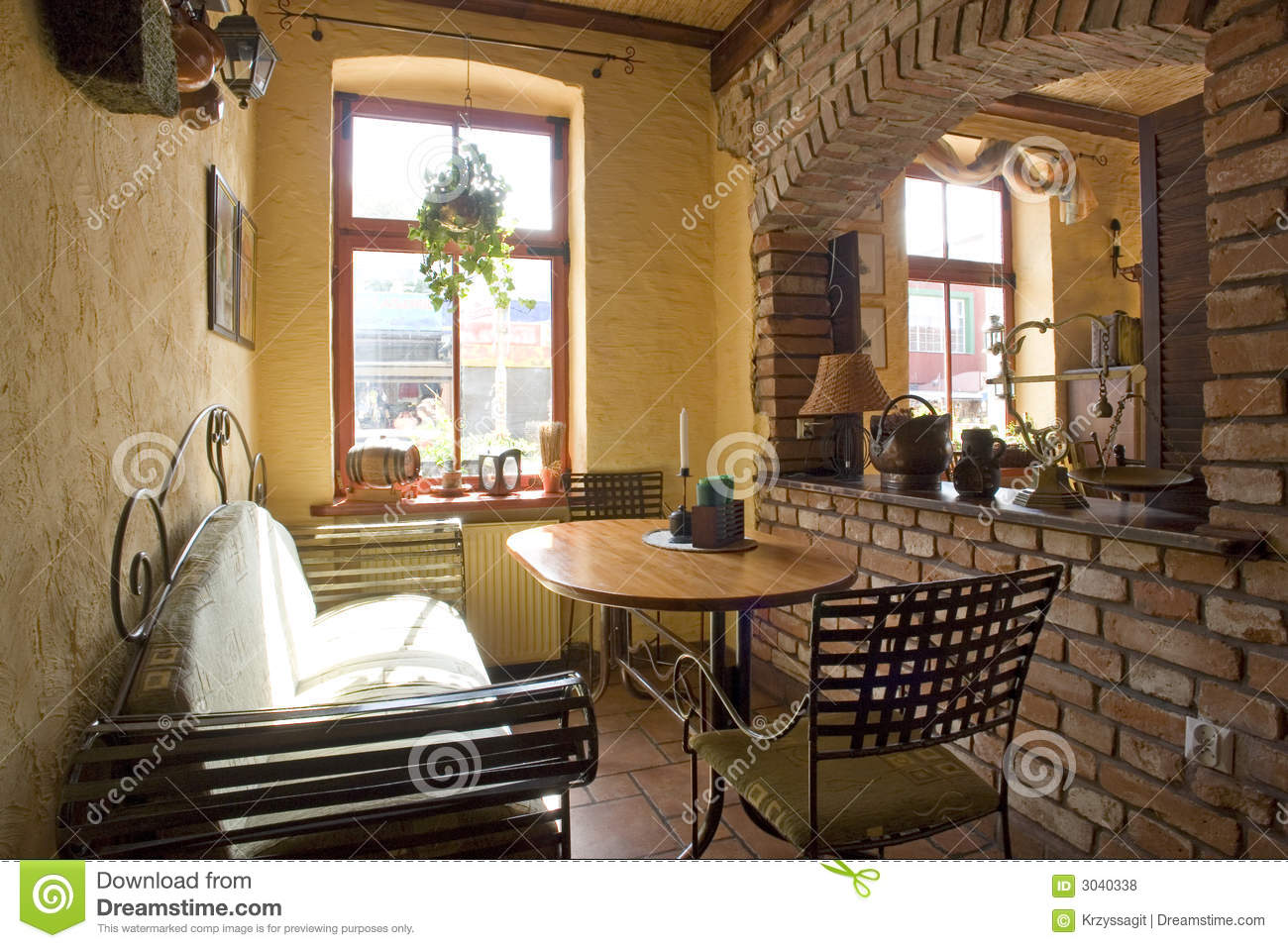 Cosy Home Corner Stock Photo Image Of Wrought