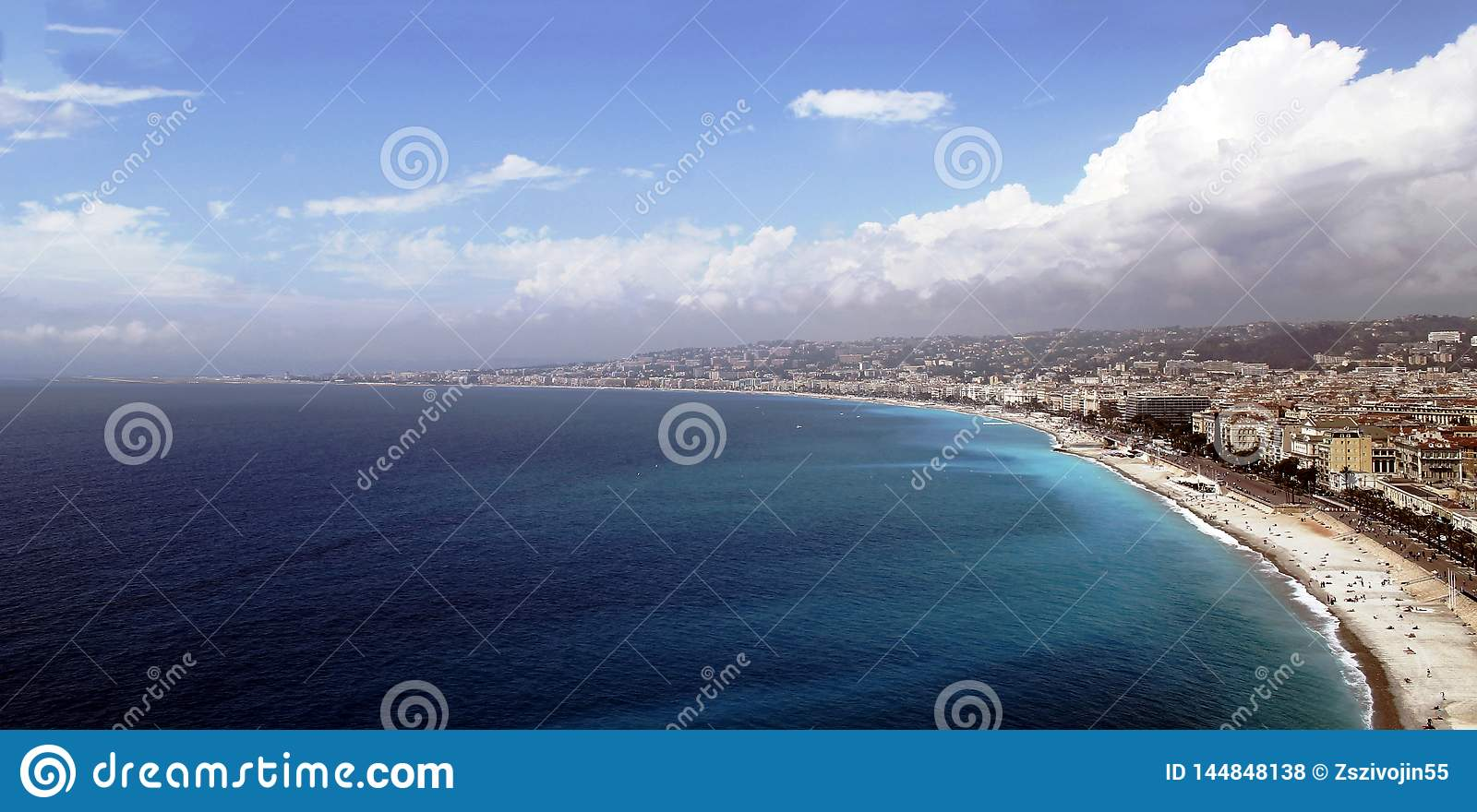 COTE D`AZUR View of NICE