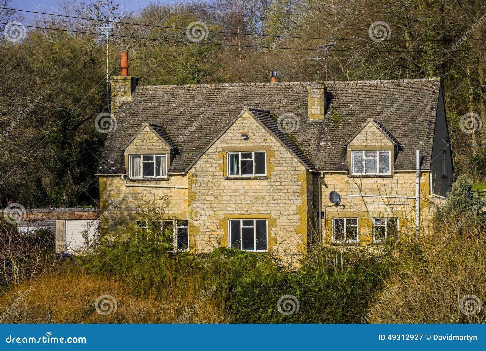 Cotswold Cottage Stock Photo Image 49312927