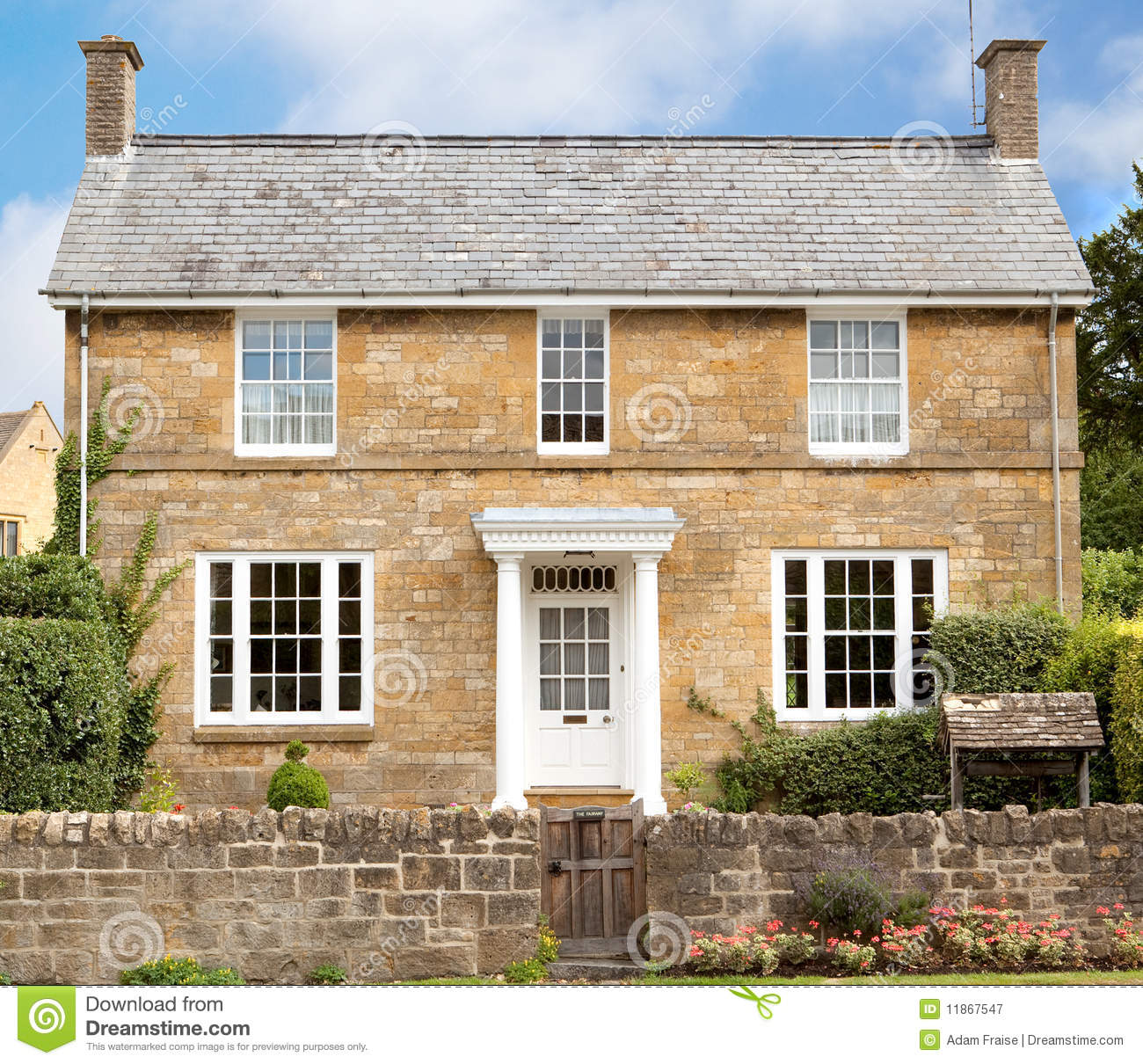 Cotswold House Royalty Free Stock Photography Image