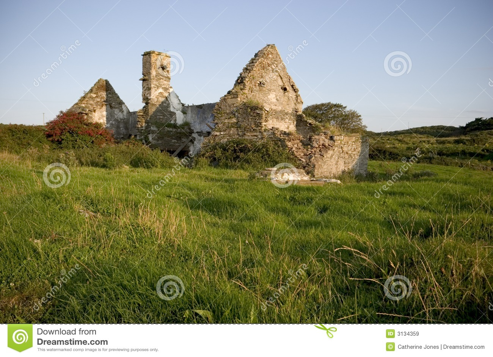 Cottage abbandonato, Irlanda