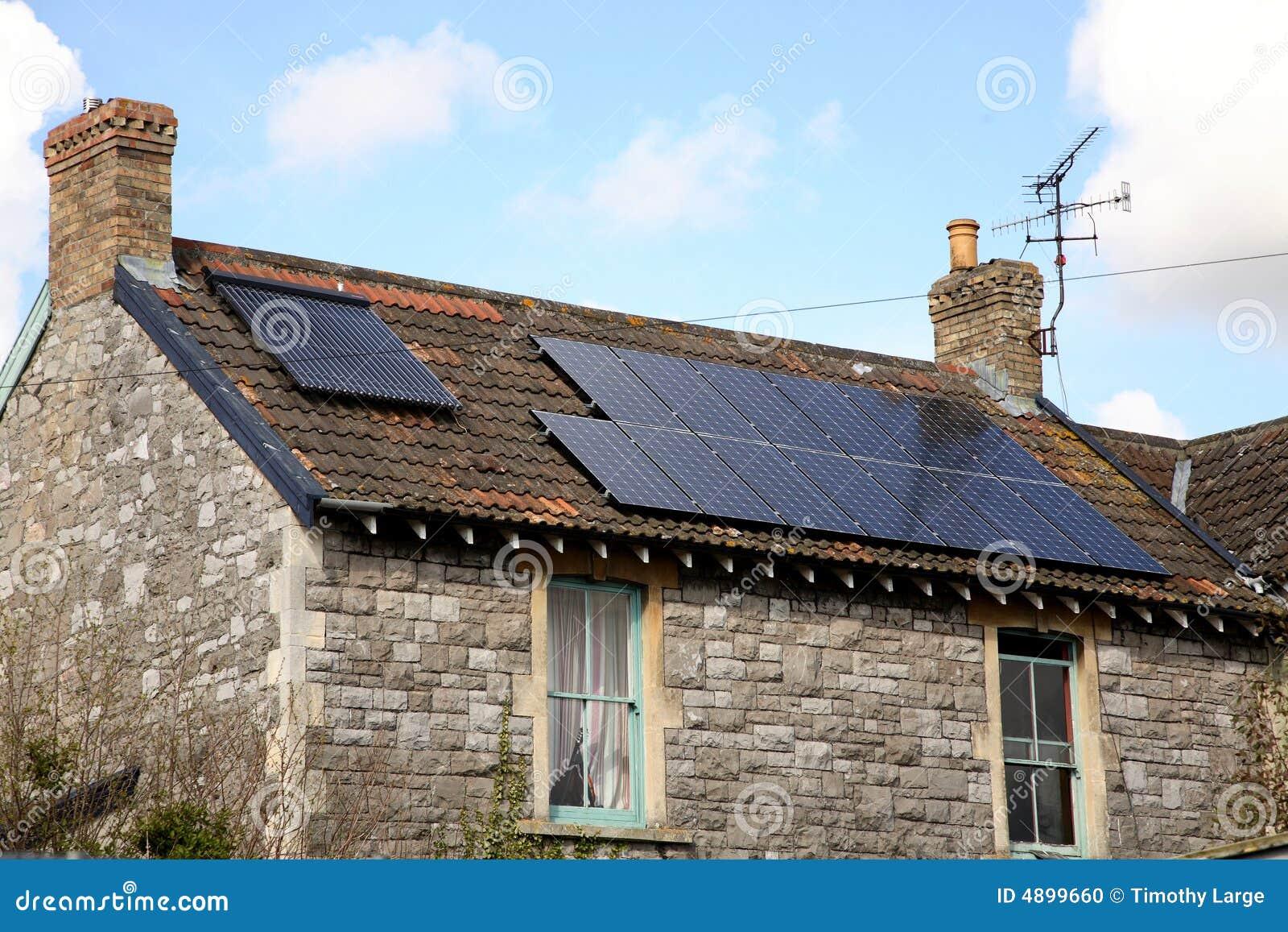 Cottage alimentato solare