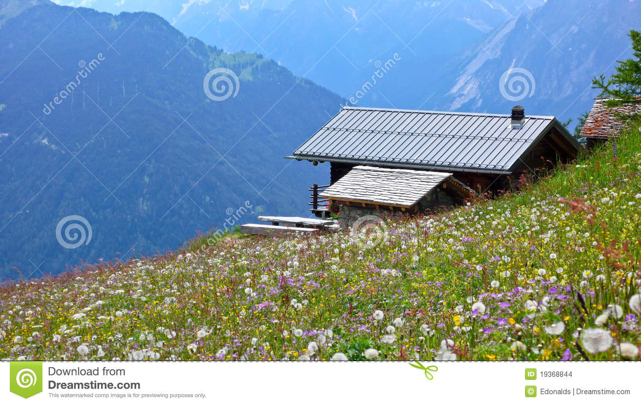 Cottage in the Alpine