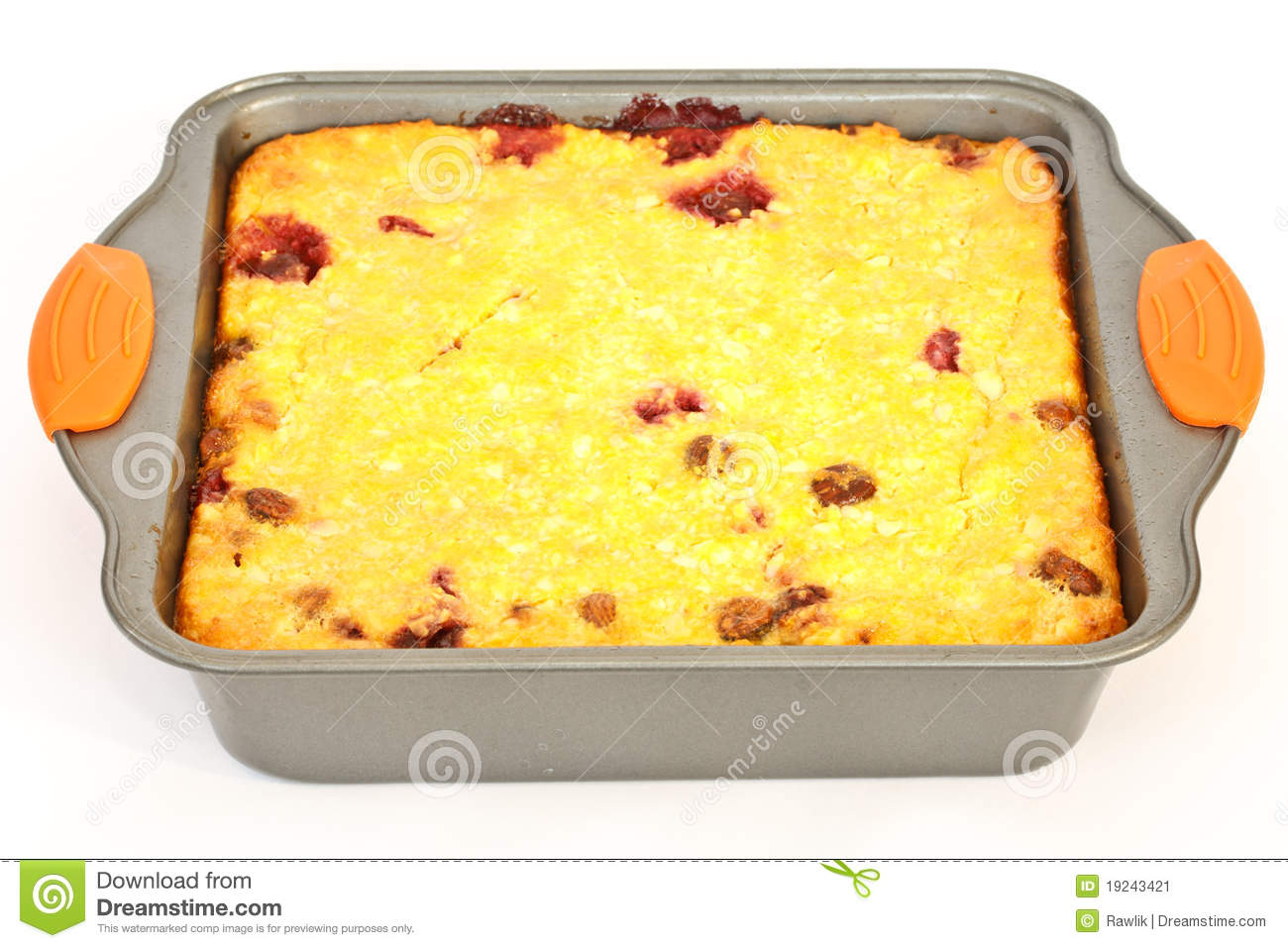 Cottage Cheese Casserole Stock Image Image Of Cheese