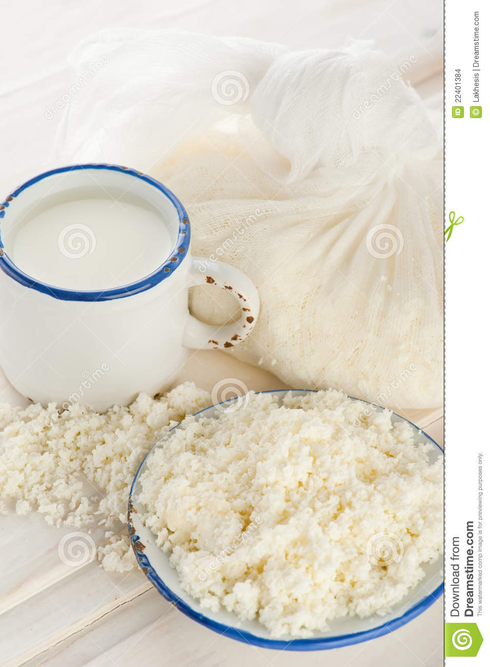 how to make cottage cheese from milk