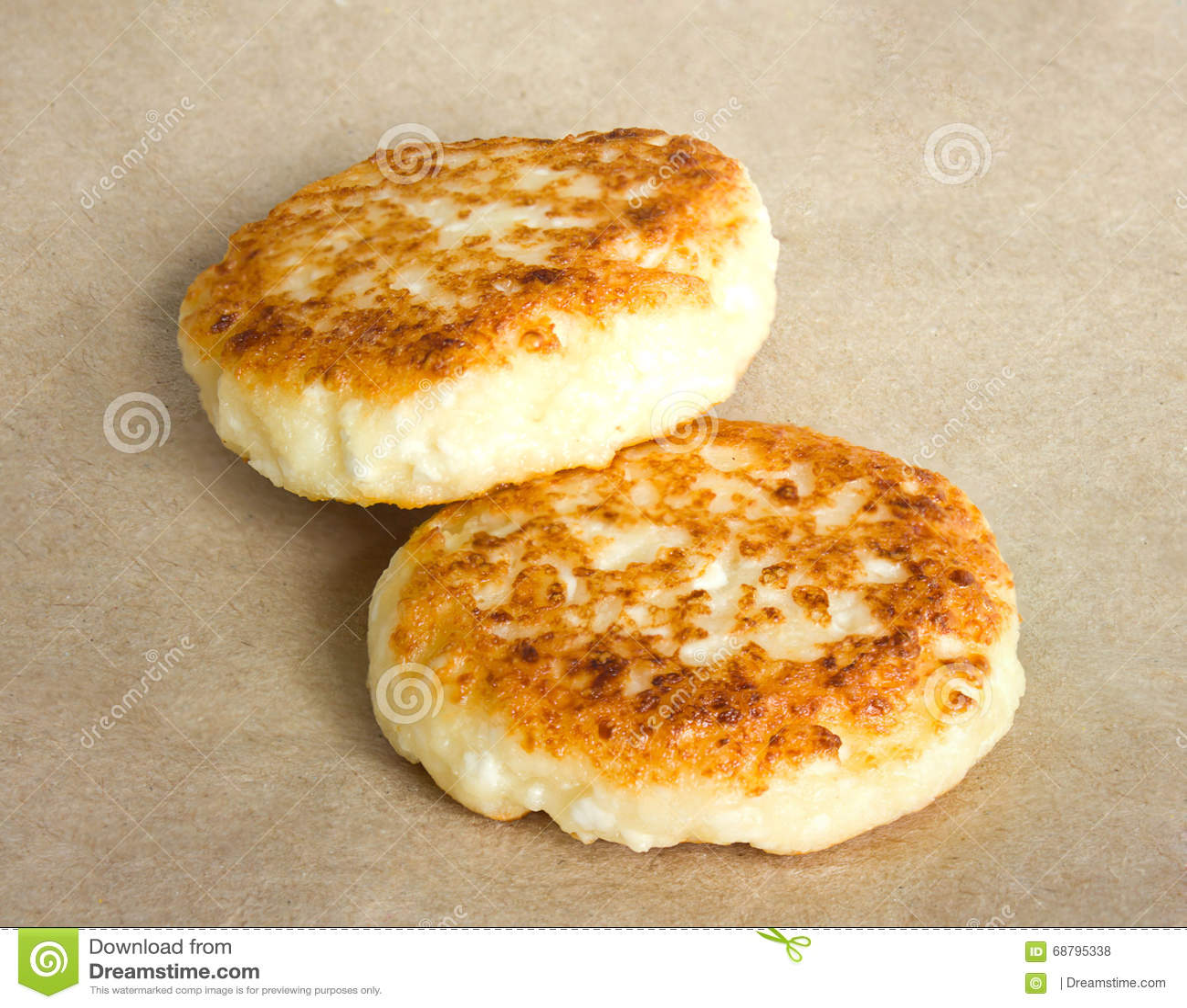 Brilliant Cottage Cheese Pancakes On Kraft Paper Closeup View Stock Download Free Architecture Designs Scobabritishbridgeorg