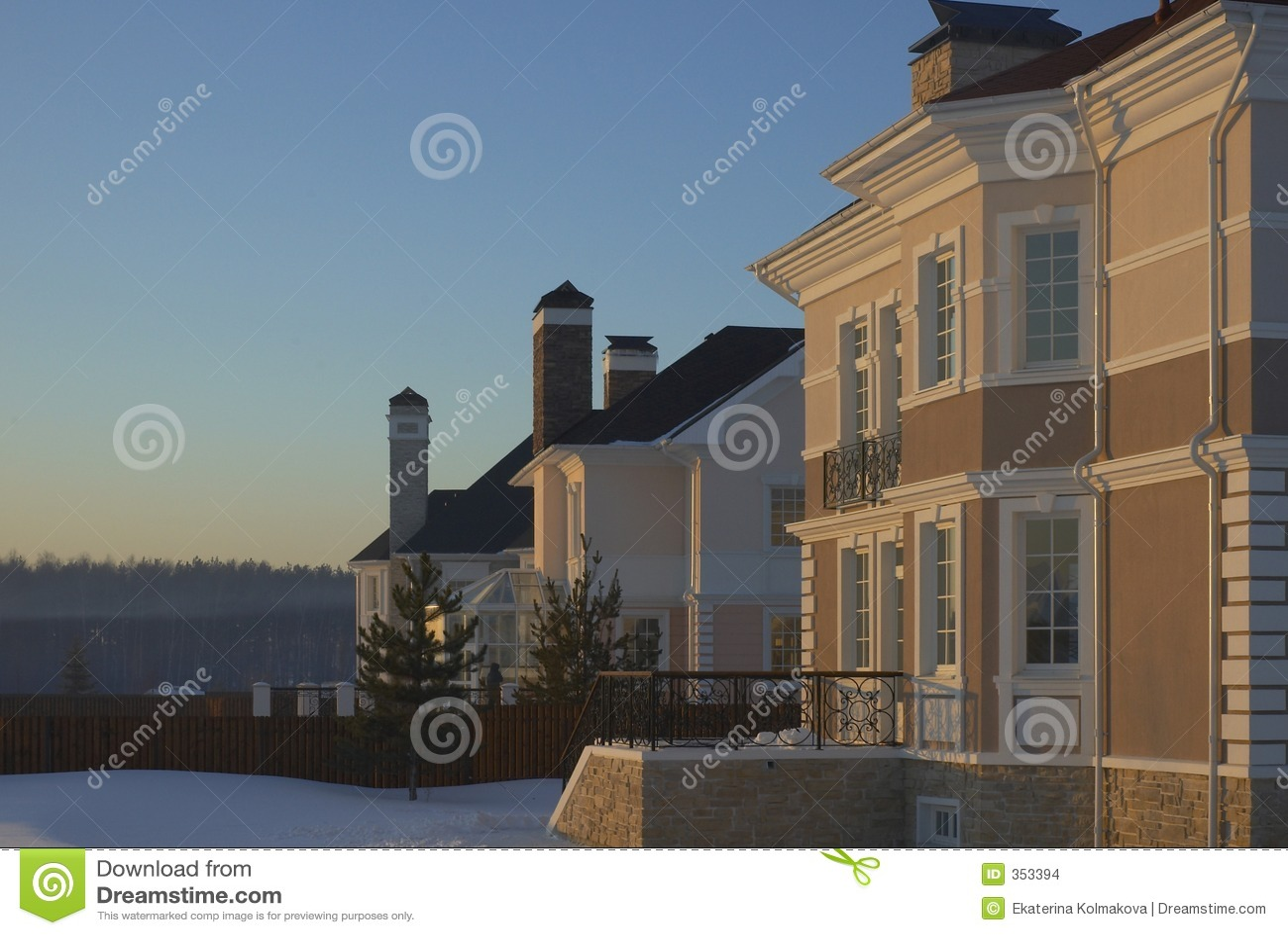 Cottage di inverno