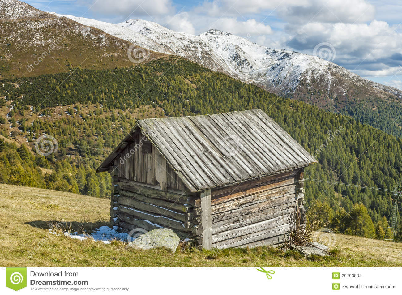 Cottage in alps stock images image 29793834 for Cottage in the mountains