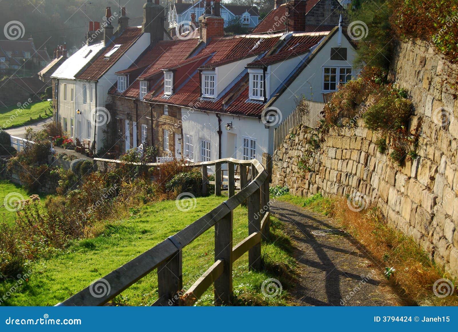 Cottage inglesi fotografia stock immagine di inghilterra for Planimetrie inglesi del cottage