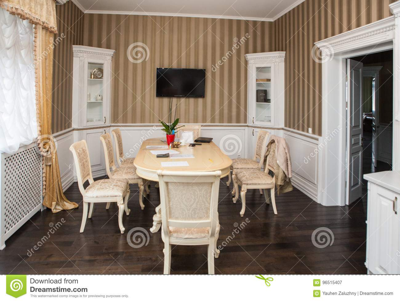 Cottage And Interiors Stock Image Image Of Garden Buildings 96515407