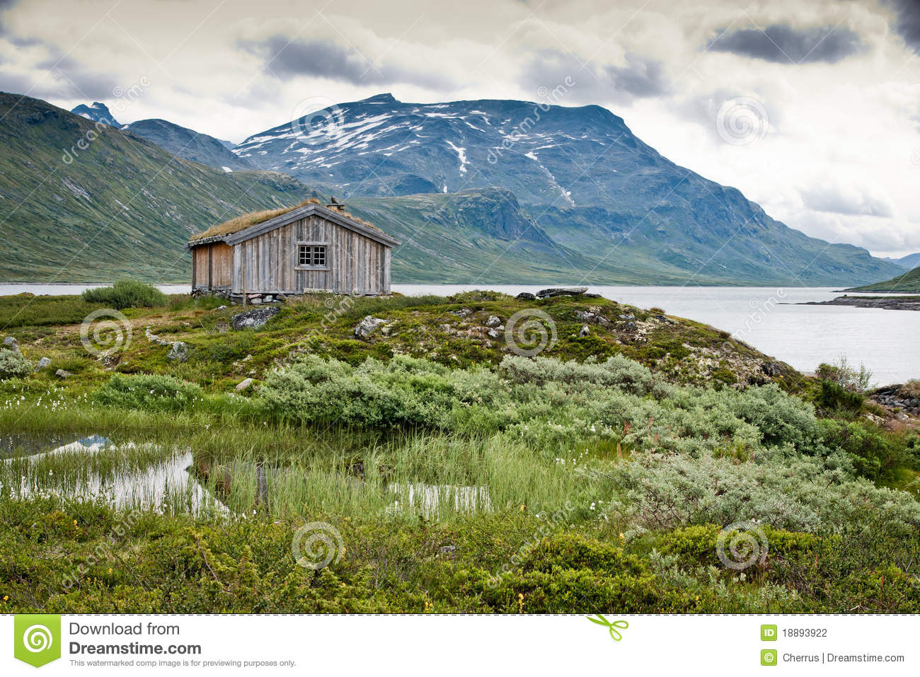 Cottage In The Mountain Stock Photography Image 18893922