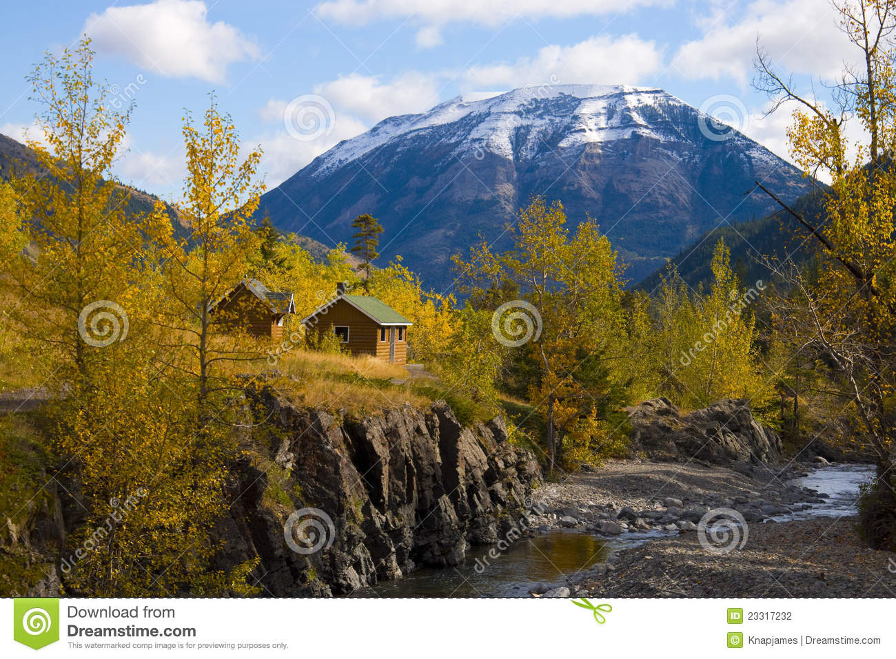 Cottage in the mountains stock photography image 23317232 for Cottage in the mountains