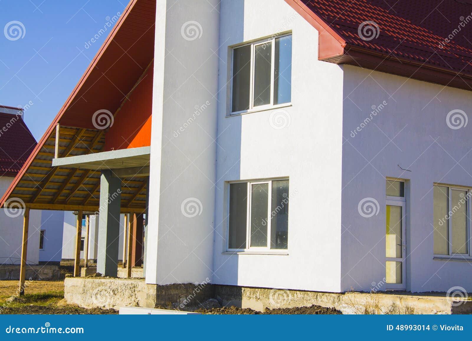 Cottage nouvellement construit dans le style am ricain for Style ricain
