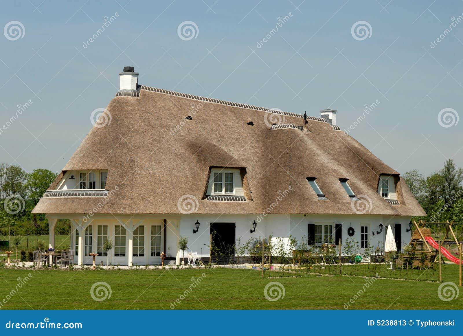 Cottage tradizionale nei Paesi Bassi