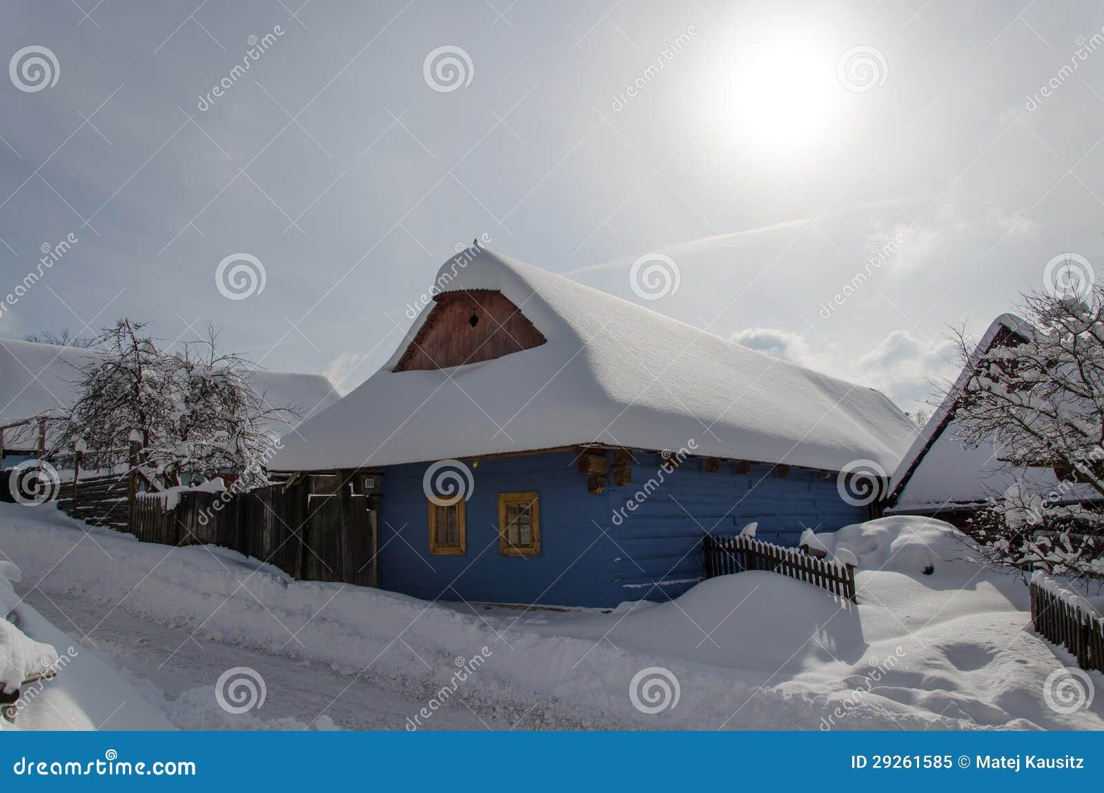 Cottages dans le vlkolinec
