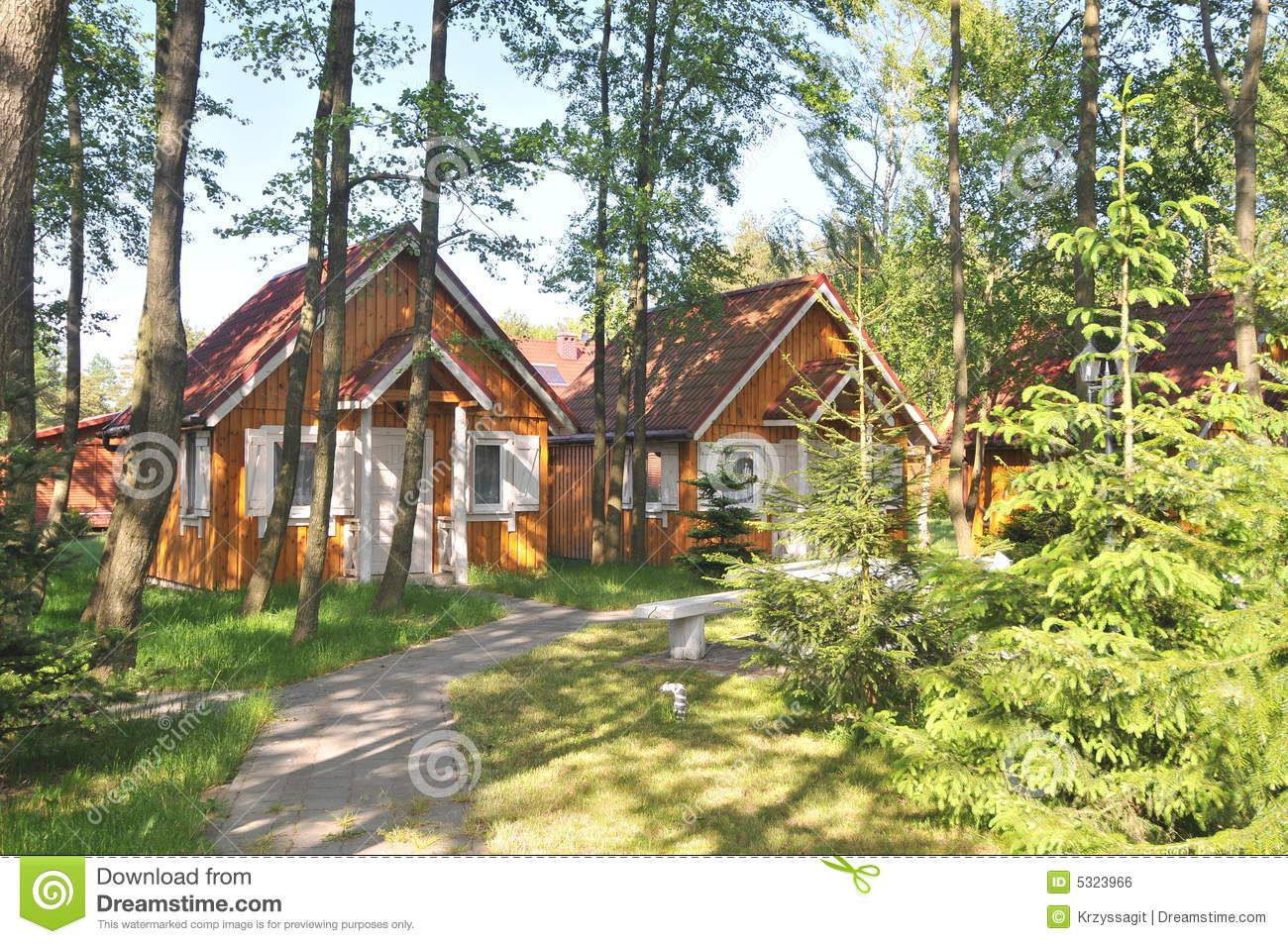 Cottages In The Woods