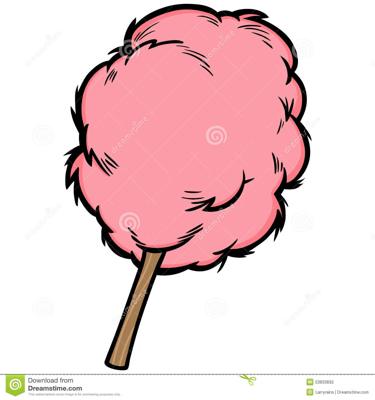 Cotton Candy Stock Vector - Image: 53833692